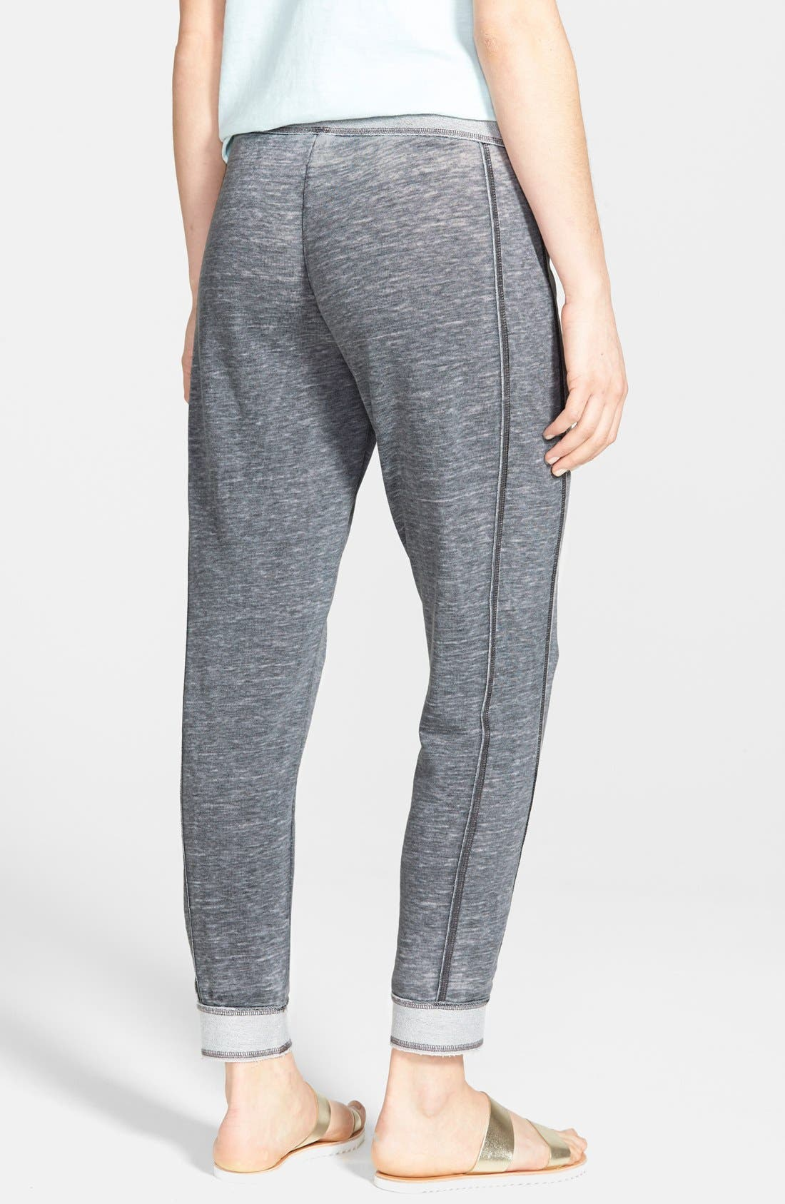 Alternate Image 2  - Lucky Brand French Terry Drawstring Pants