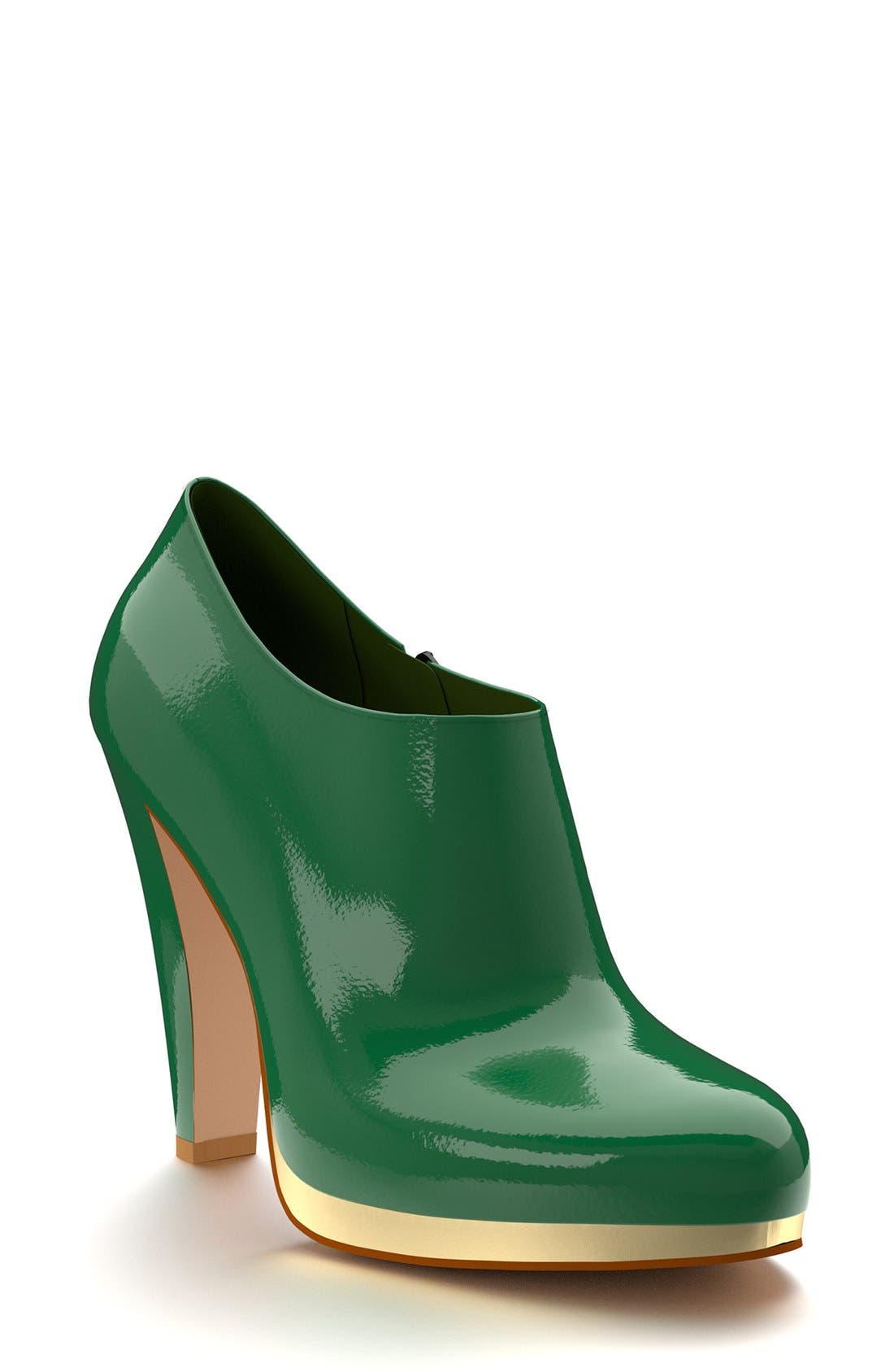 Alternate Image 1 Selected - Shoes of Prey  Platform Ankle Boot (Women)