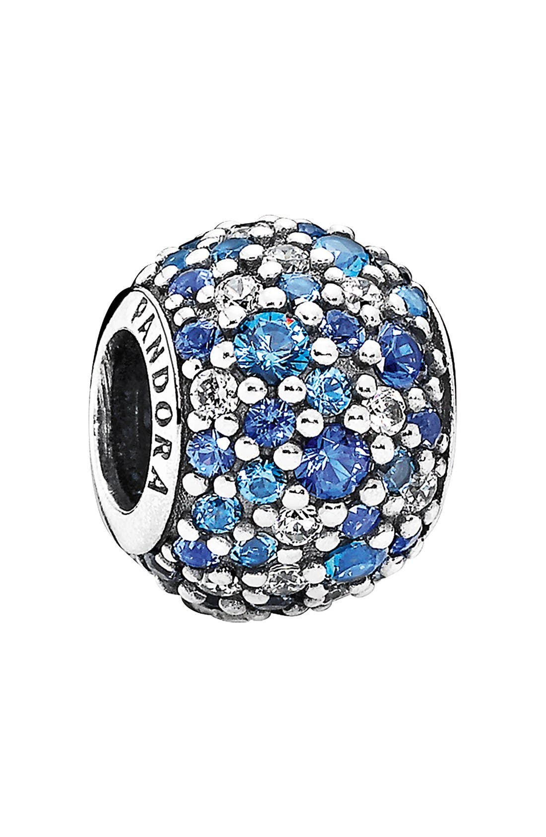 Alternate Image 1 Selected - PANDORA 'Mosaic' Pavé Bead Charm
