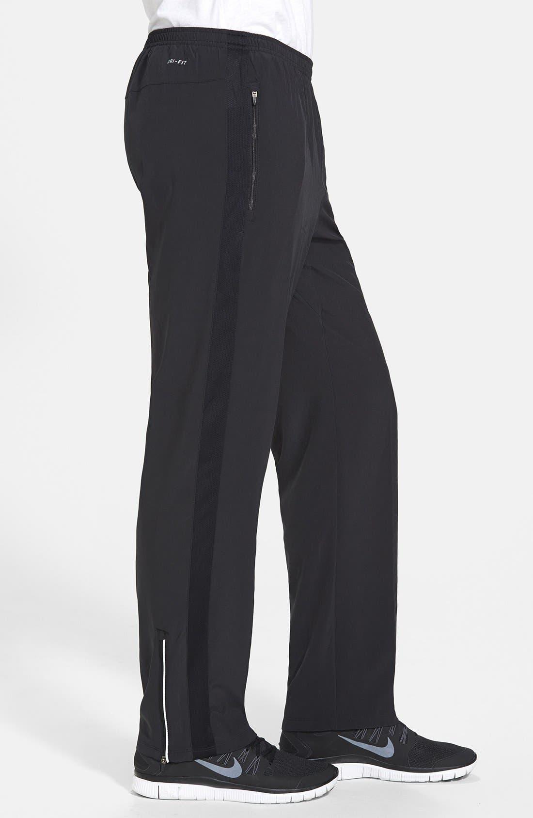 Alternate Image 4  - Nike 'Dri-FIT SW' Stretch Woven Pants