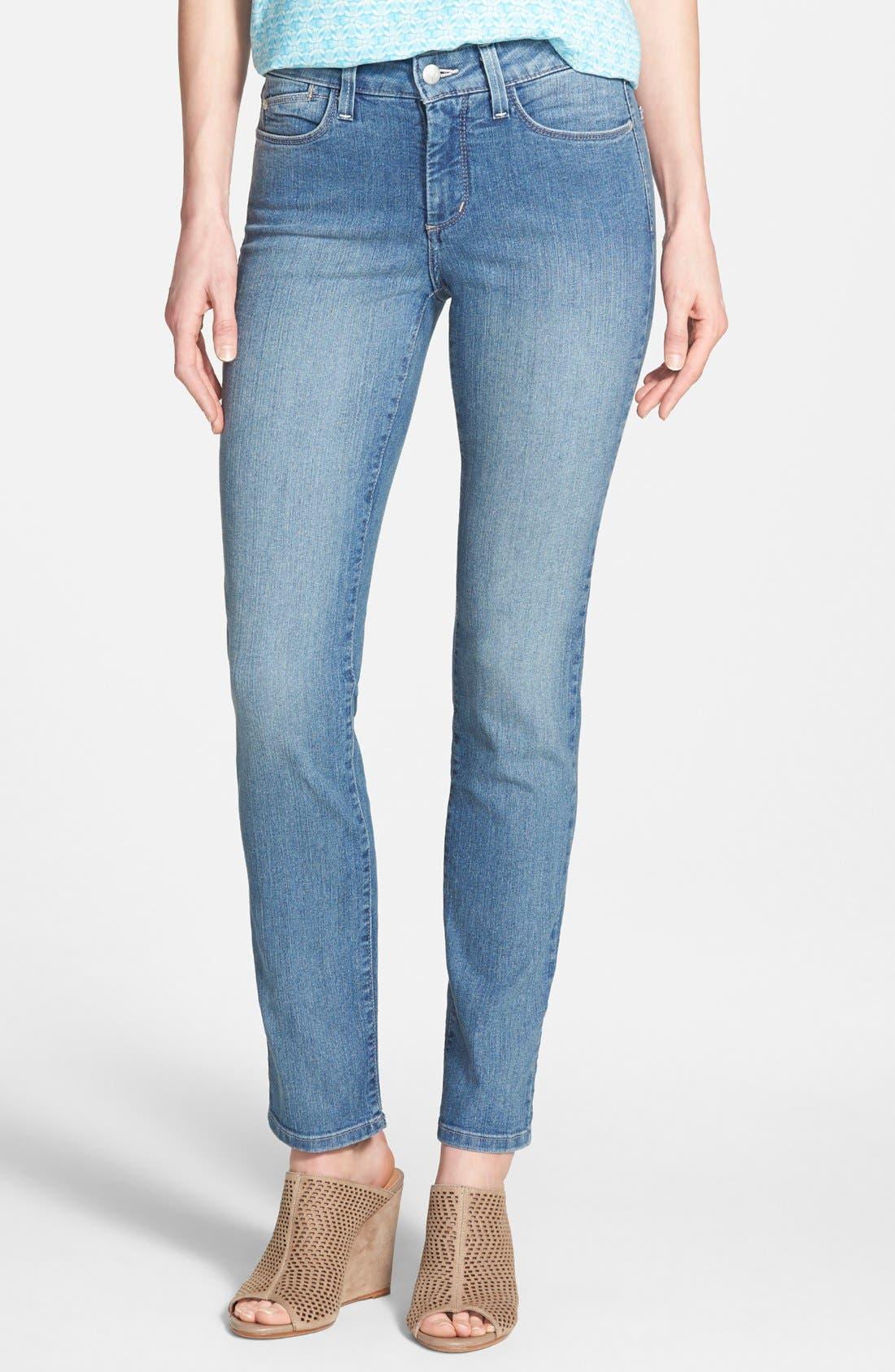 Alternate Image 1 Selected - NYDJ 'Sheri' Stretch Skinny Jeans (Palmdale)