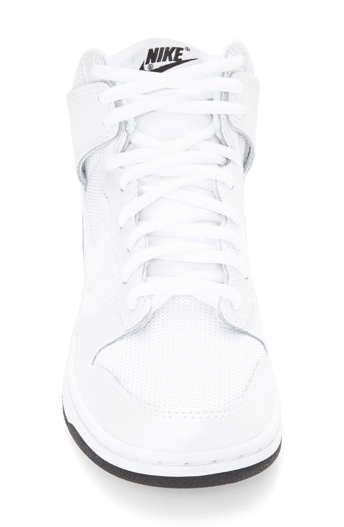 Alternate Image 3  - Nike 'Dunk High Skinny' Sneaker (Women)