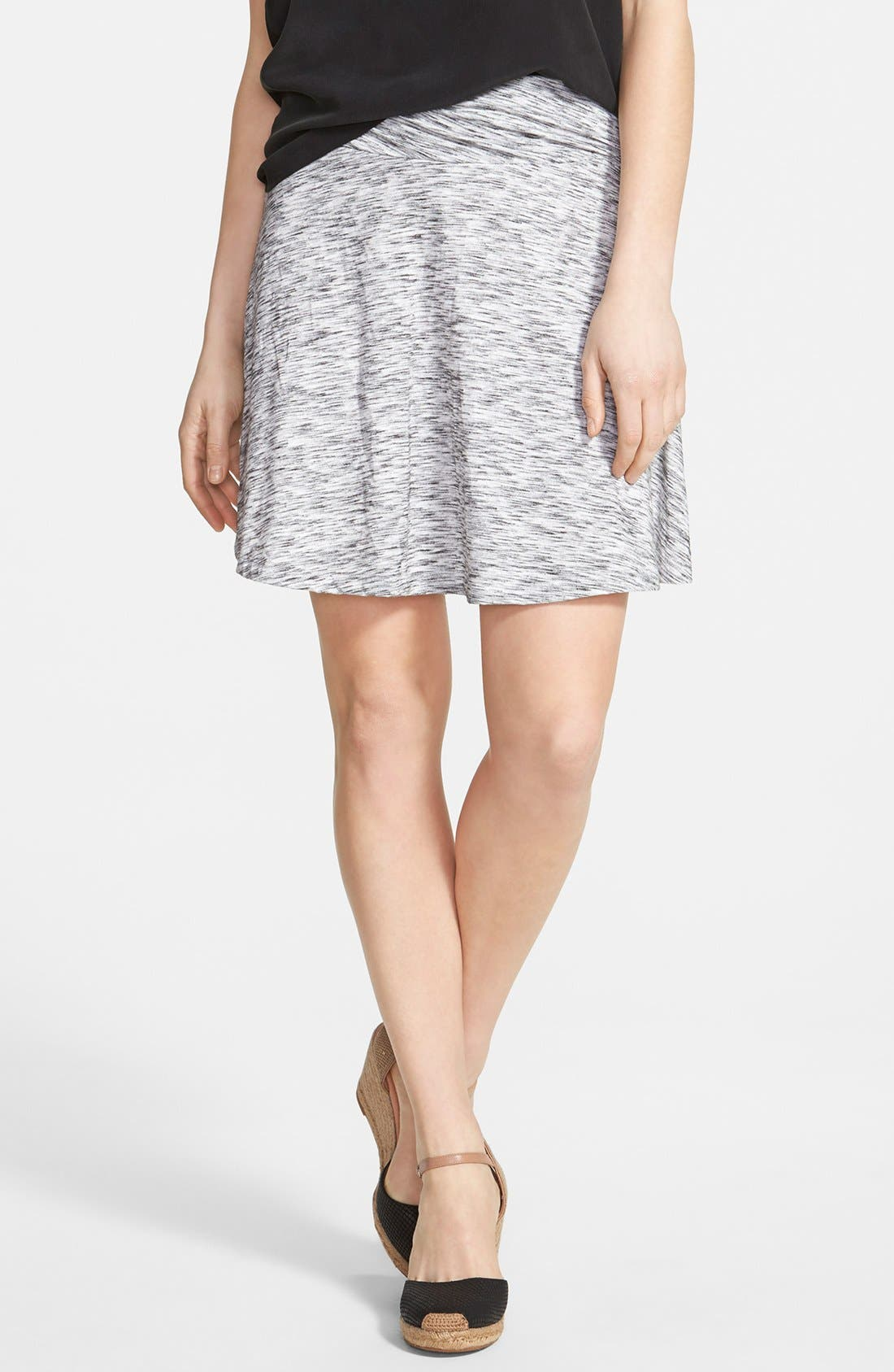 Main Image - Caslon® Twist Waist Flared Skirt