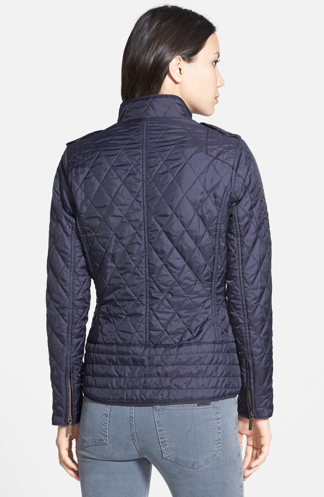 Alternate Image 2  - Barbour 'Jody' Quilted Moto Jacket