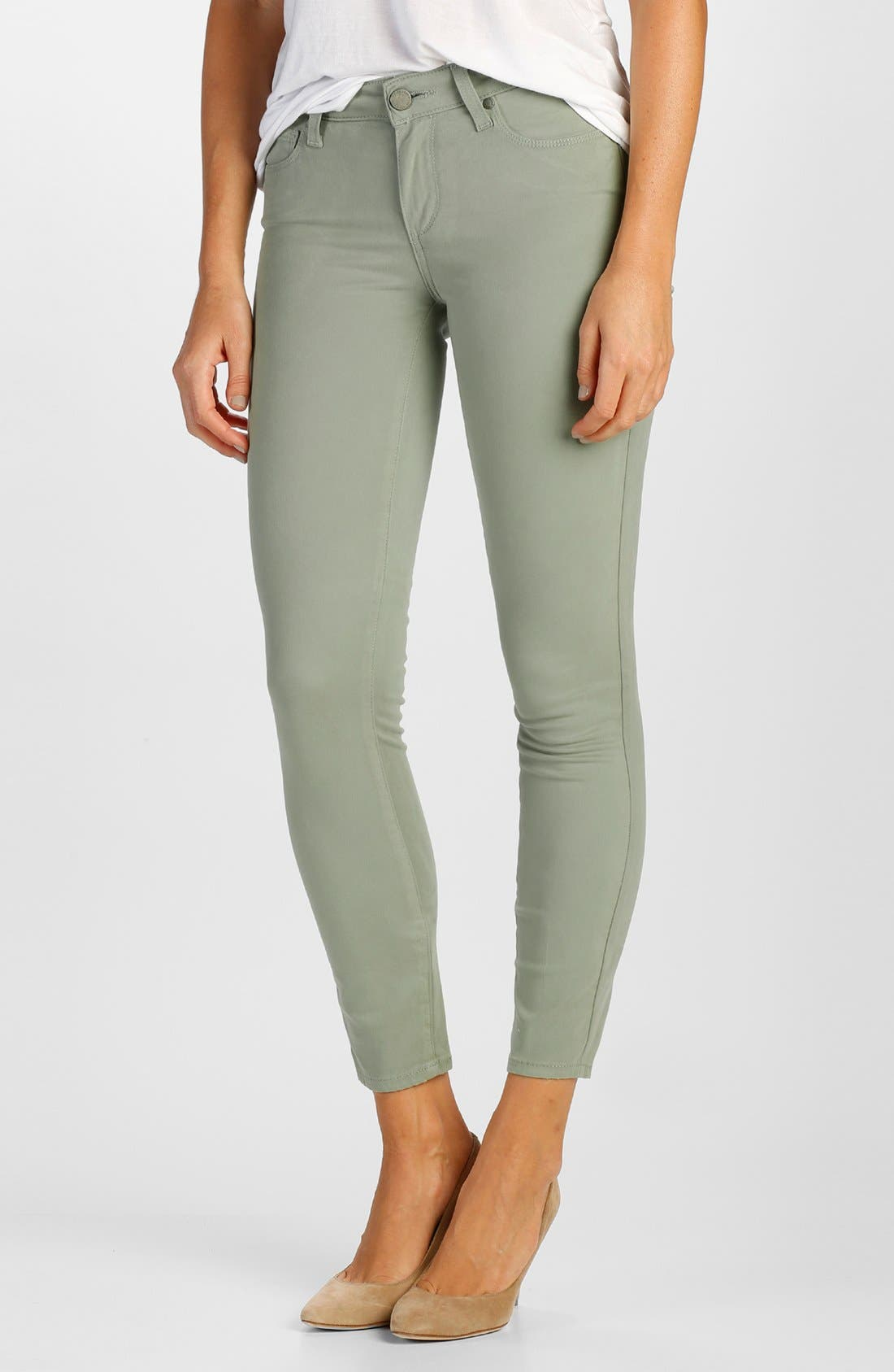 Main Image - Paige Denim 'Verdugo' Ankle Skinny Jeans
