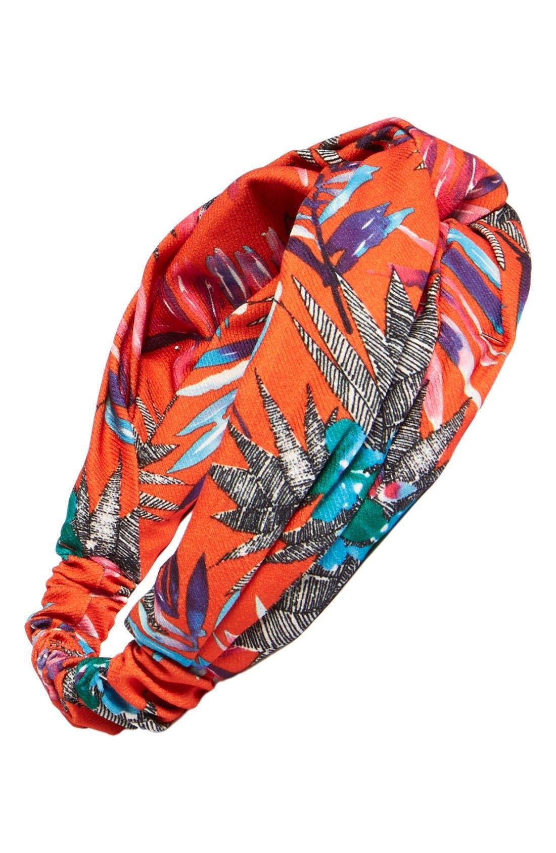 Main Image - Eugenia Kim Tropical Print Turban Headband
