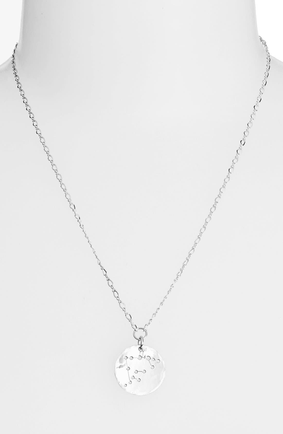 NASHELLE Ija 'Large Zodiac' Sterling Silver Necklace