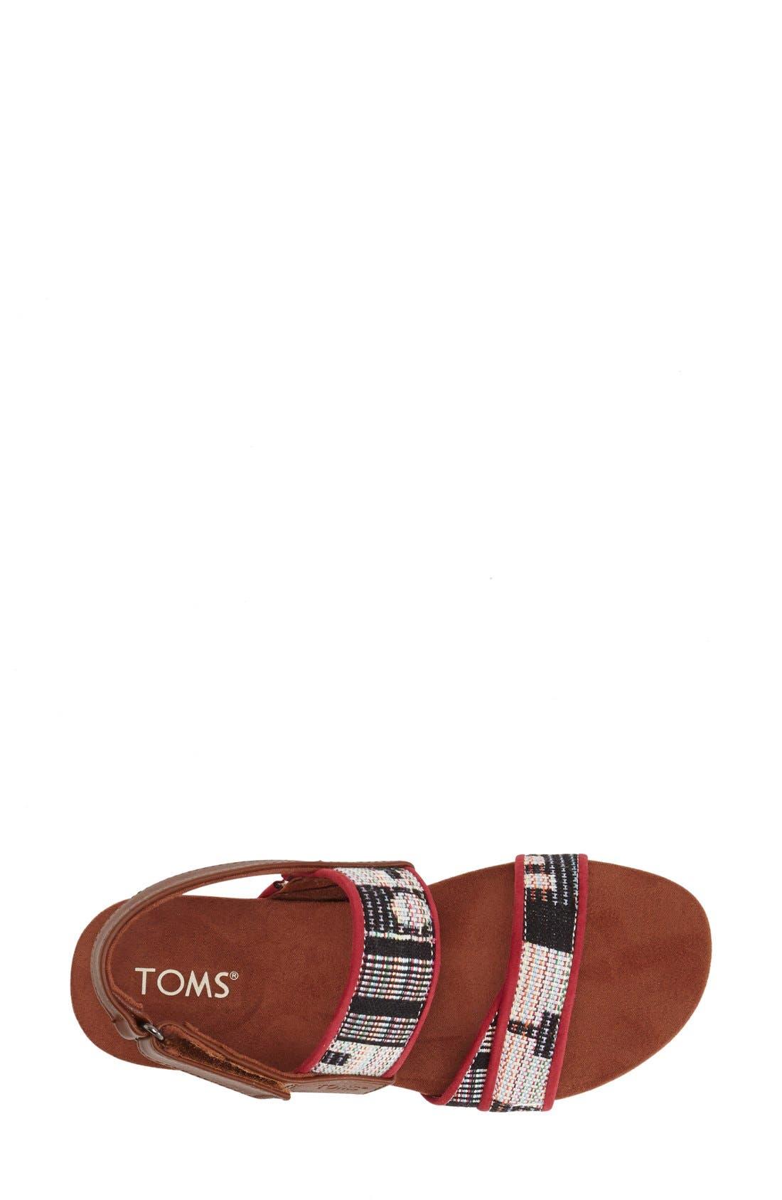 Alternate Image 3  - TOMS 'Tierra' Woven Sandal (Women)