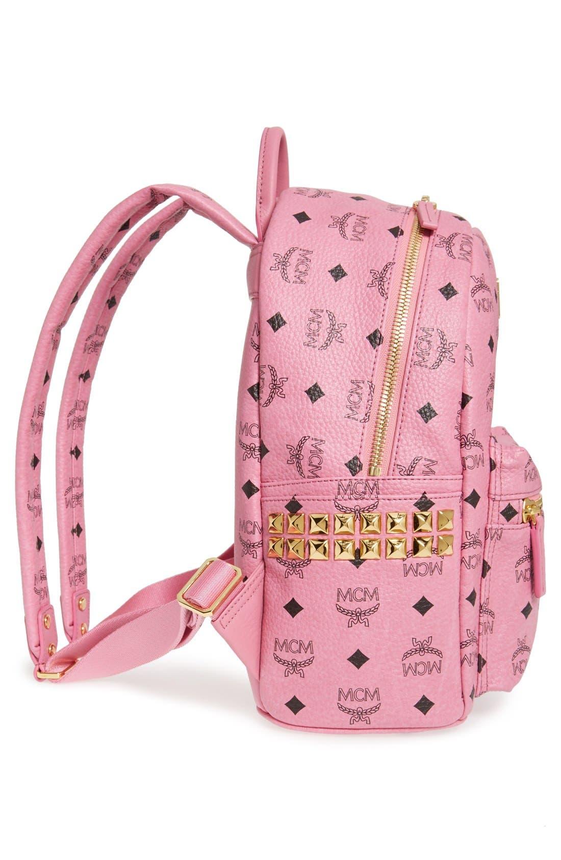 Alternate Image 5  - MCM 'Small Stark' Side Stud Backpack