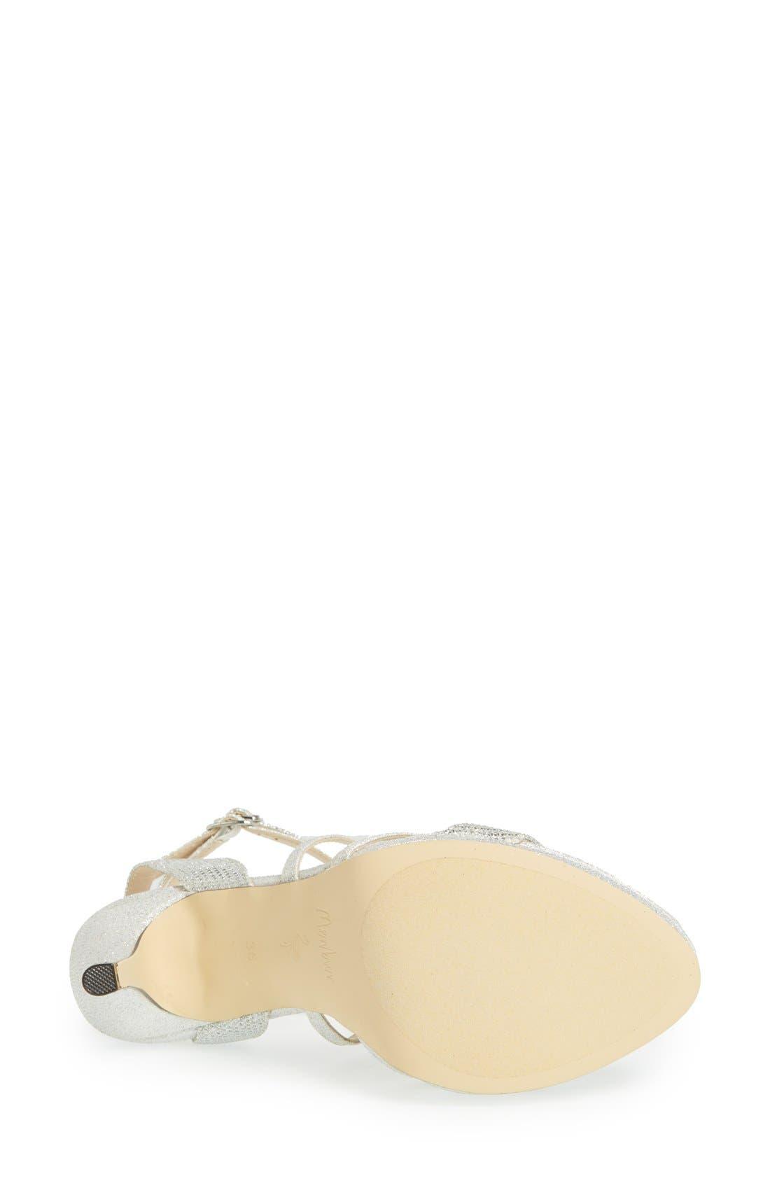 Alternate Image 4  - Menbur 'Algar' Glitter Platform Sandal (Women)