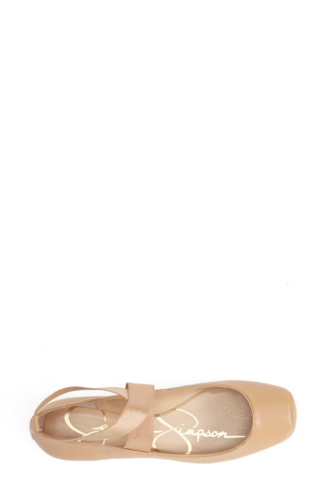 Alternate Image 3  - Jessica Simpson 'Mandalaye' Leather Flat