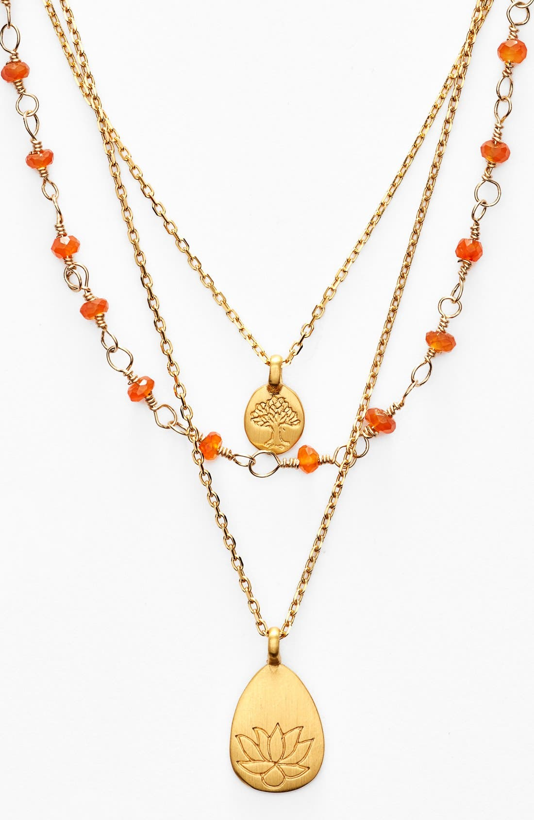Main Image - Satya Jewelry Beaded Layered Necklace (Nordstrom Exclusive)