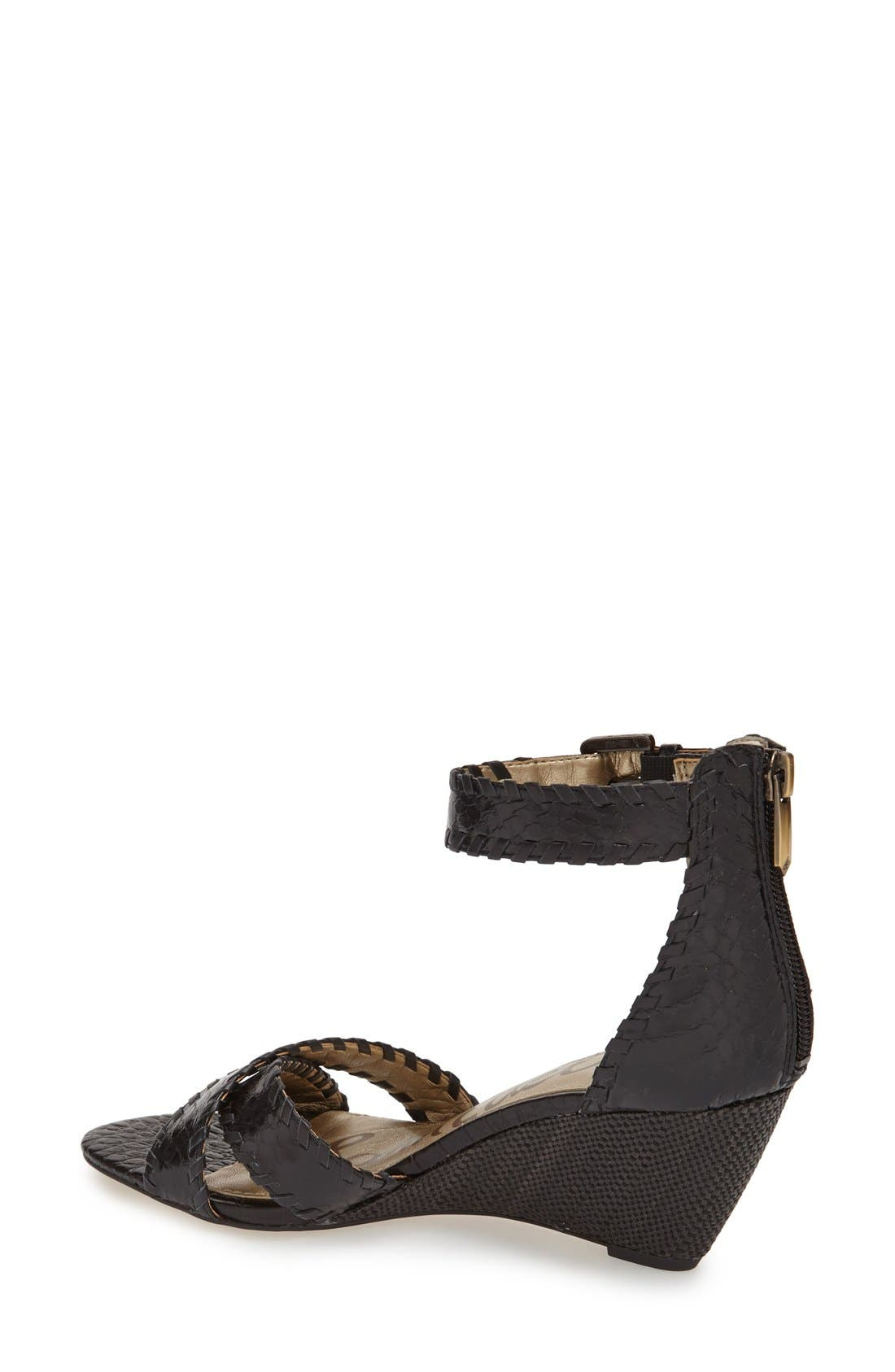 Alternate Image 2  - Sam Edelman 'Silvia' Ankle Strap Wedge Sandal (Women)