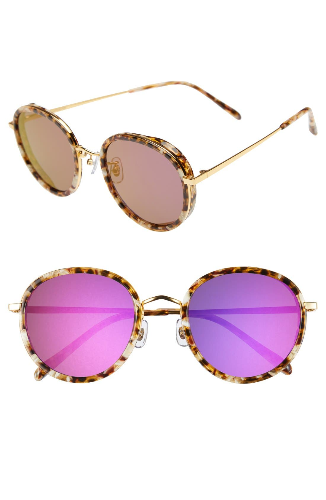Alternate Image 1 Selected - Gentle Monster 53mm Round Retro Sunglasses