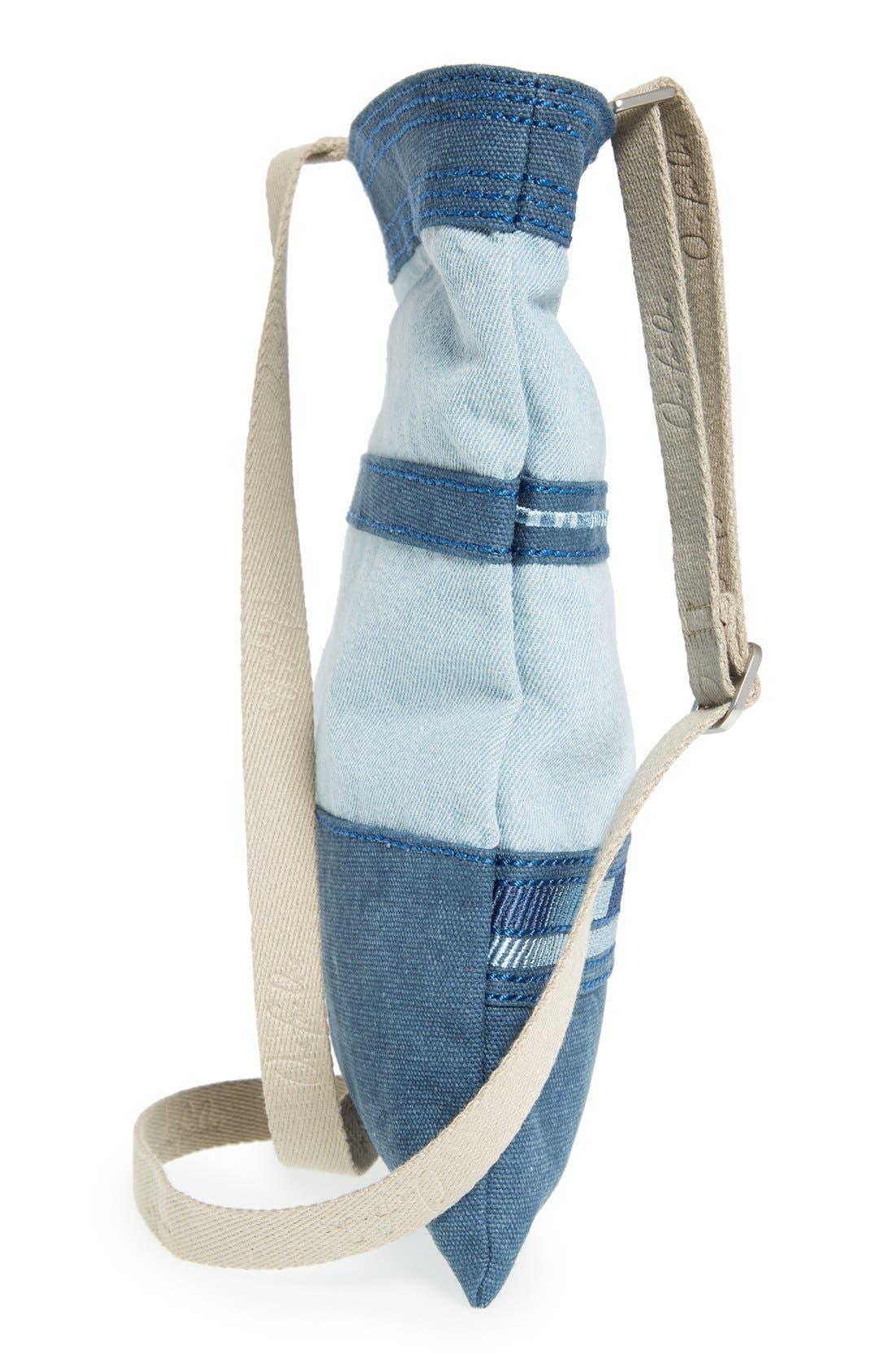 Alternate Image 5  - TOMS Stripe Denim Crossbody Bag