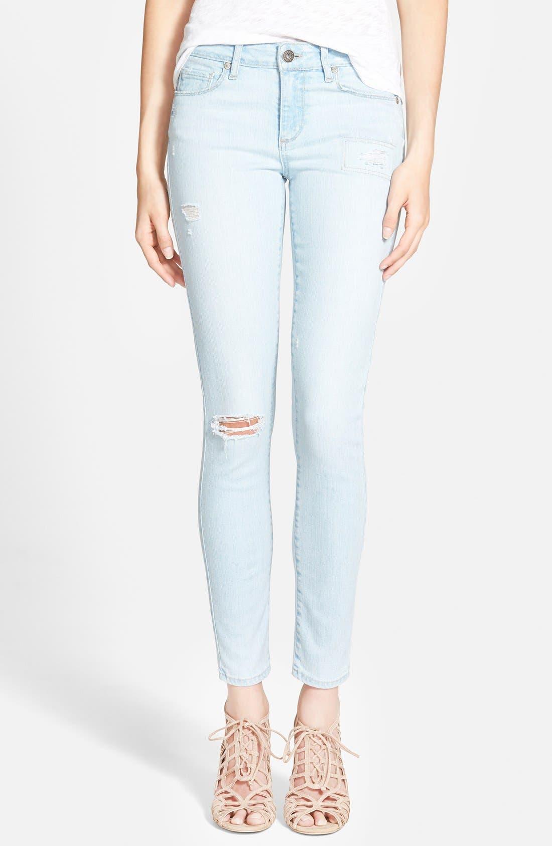 Alternate Image 1 Selected - Paige Denim 'Verdugo' Ultra Skinny Jeans (Cece  Destructed)