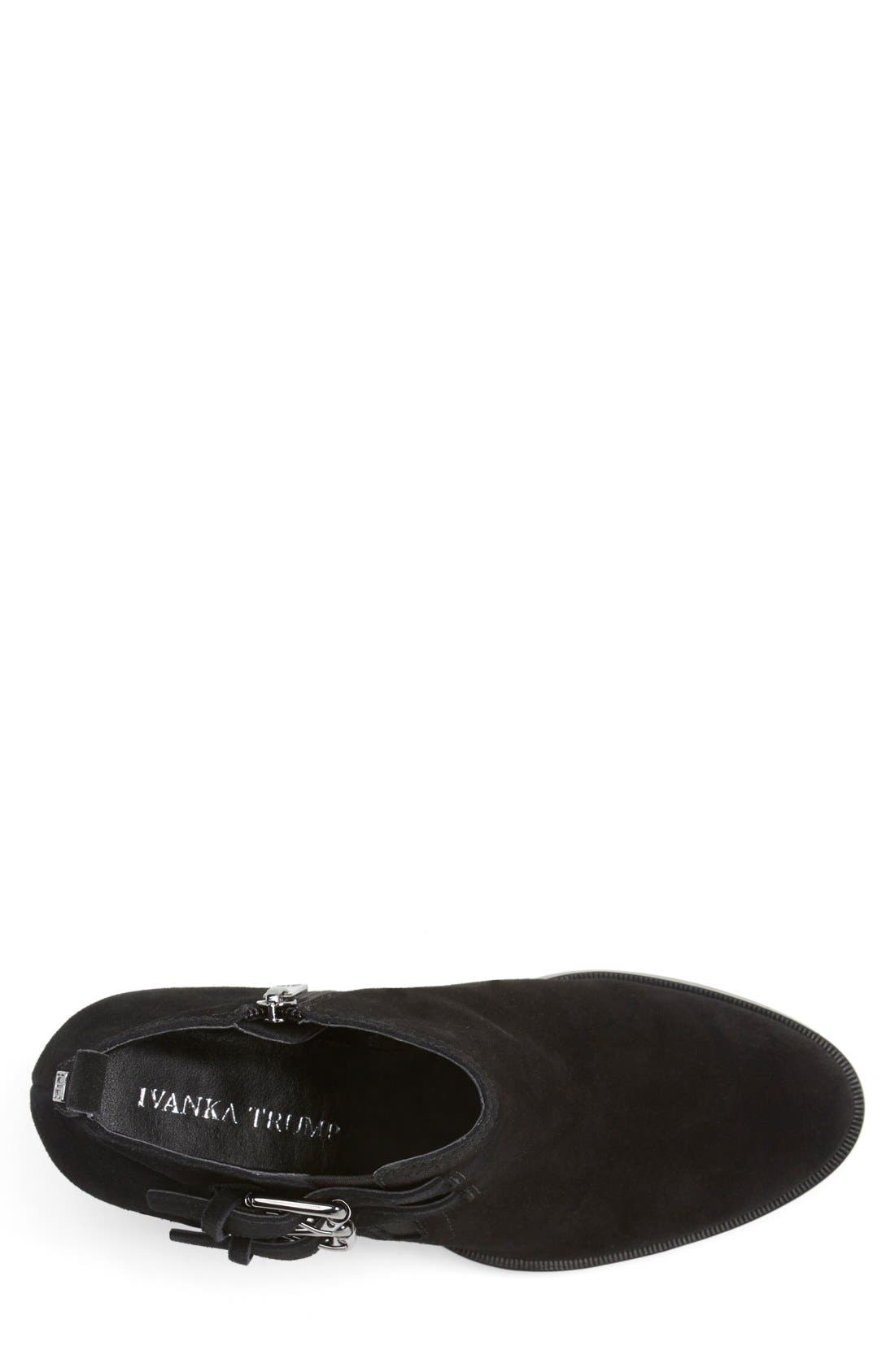 Alternate Image 4  - Ivanka Trump 'Taren' Suede Bootie (Women)