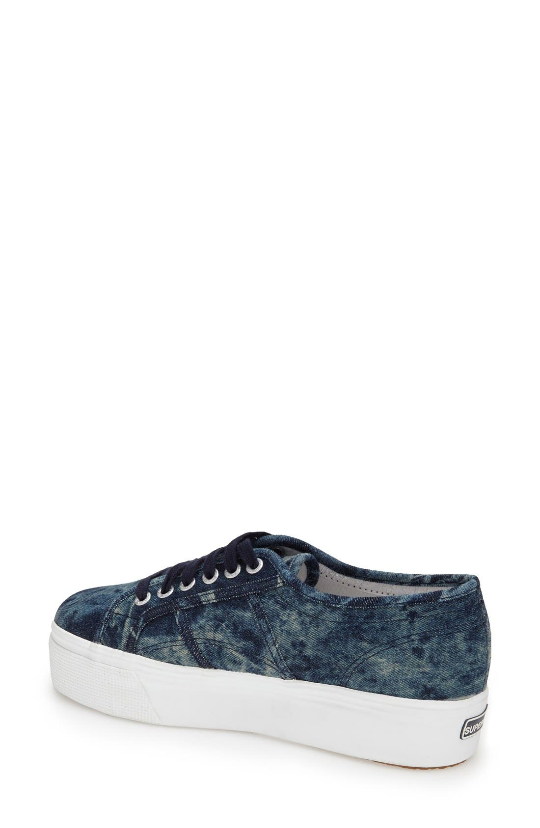 Alternate Image 2  - Superga Tie Dye Platform Sneaker (Women)