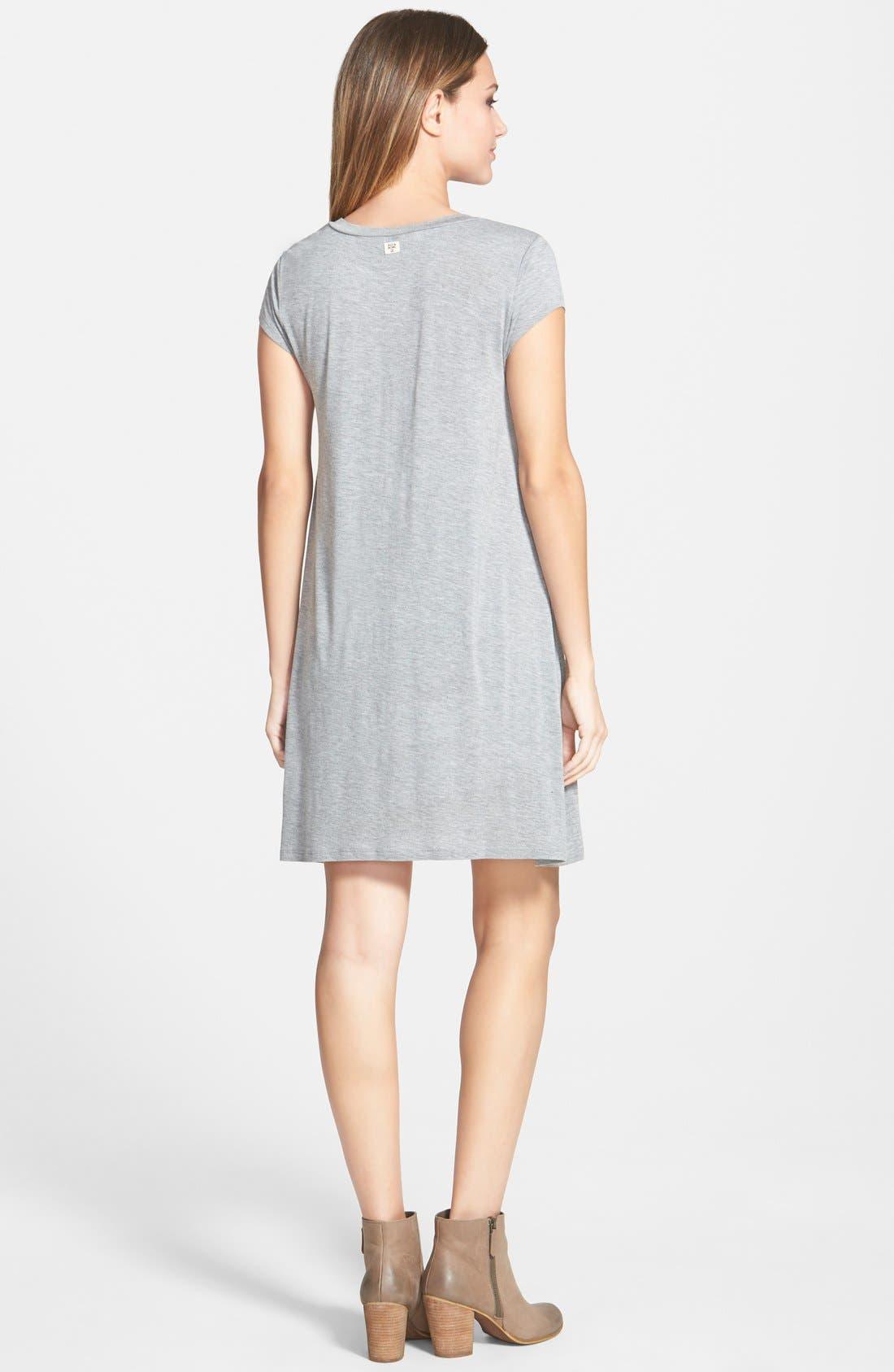 Alternate Image 2  - Billabong 'Last Minute' T-Shirt Dress