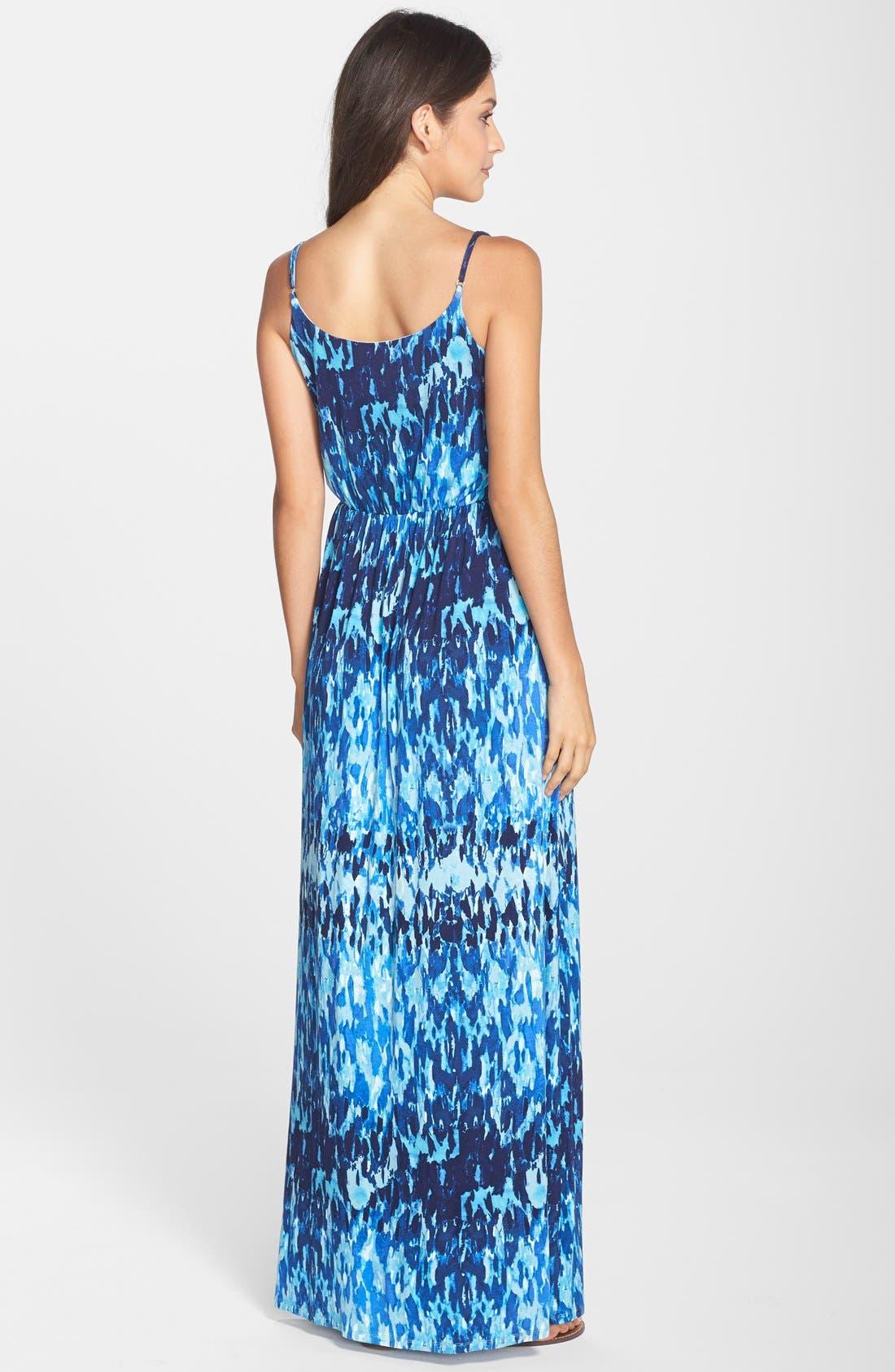 Alternate Image 2  - Felicity & Coco 'Ezri' Print Maxi Dress (Regular & Petite) (Nordstrom Exclusive)
