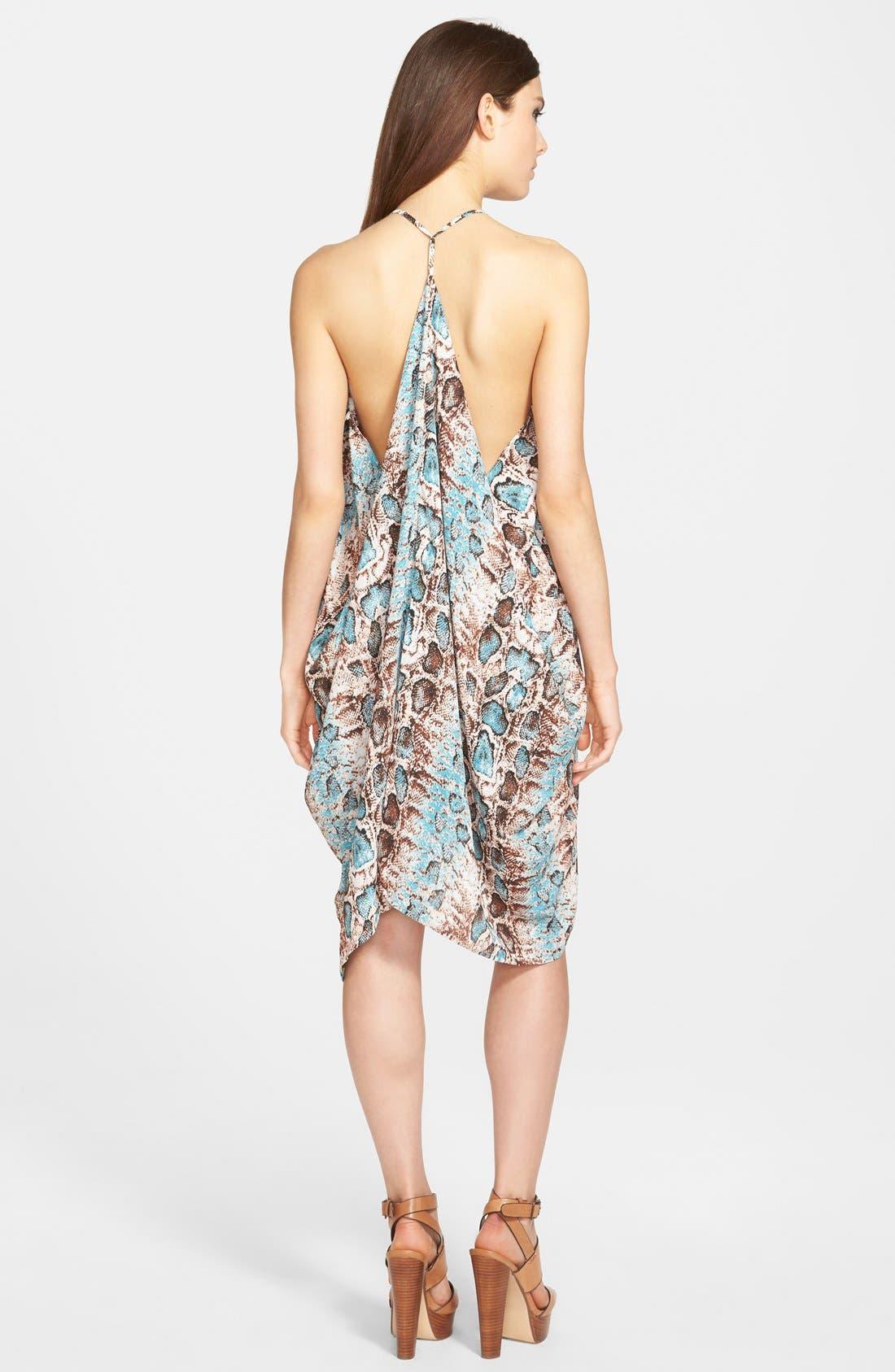 Alternate Image 2  - Filtre Drapey Halter Dress
