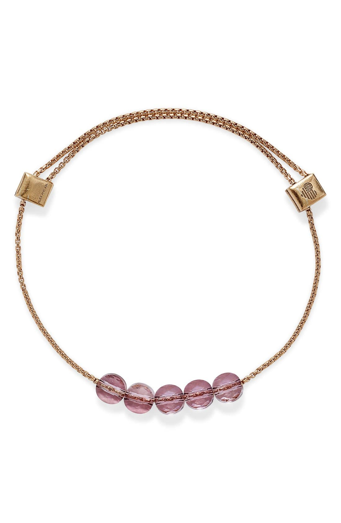 Alex and Ani 'Crystal Infusion' Beaded Expandable Bracelet