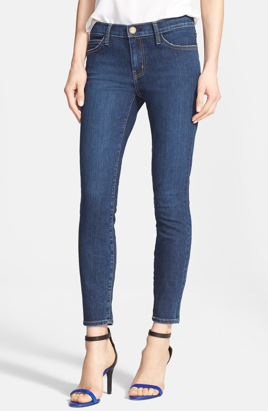 Main Image - Current/Elliott 'The Stiletto' Stretch Skinny Jeans (Reconaissance)