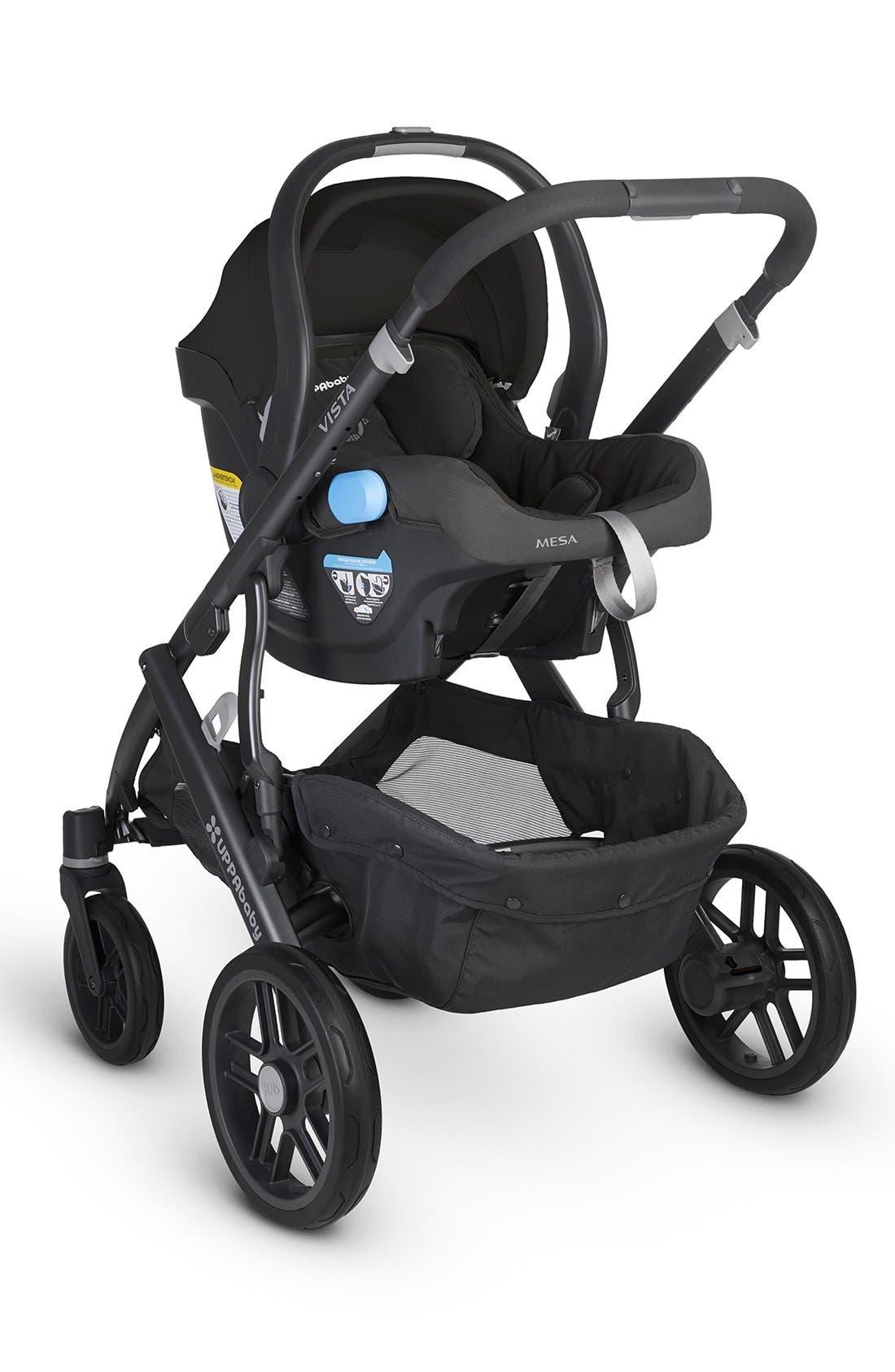 Alternate Image 4  - UPPAbaby VISTA - Carbon Frame Convertible Stroller