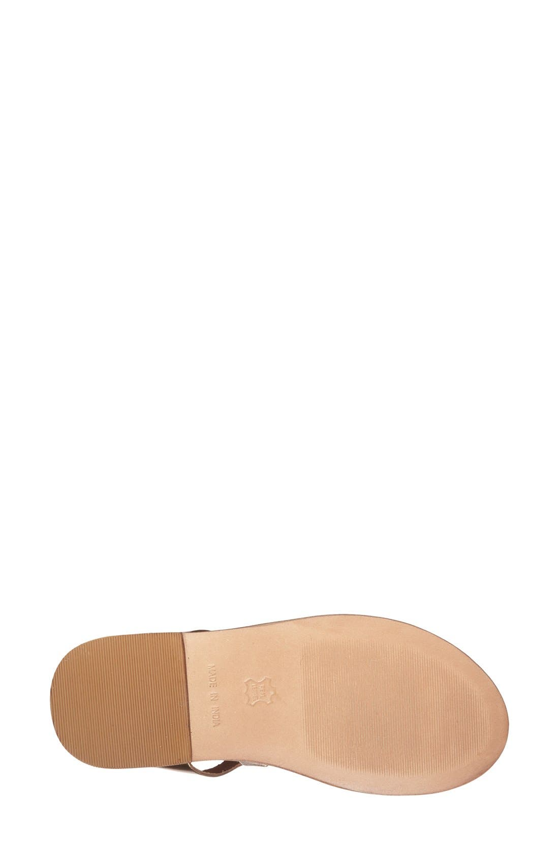 Alternate Image 3  - Topshop 'Fig' Cutout Lace-Up Gladiator Sandal (Women)
