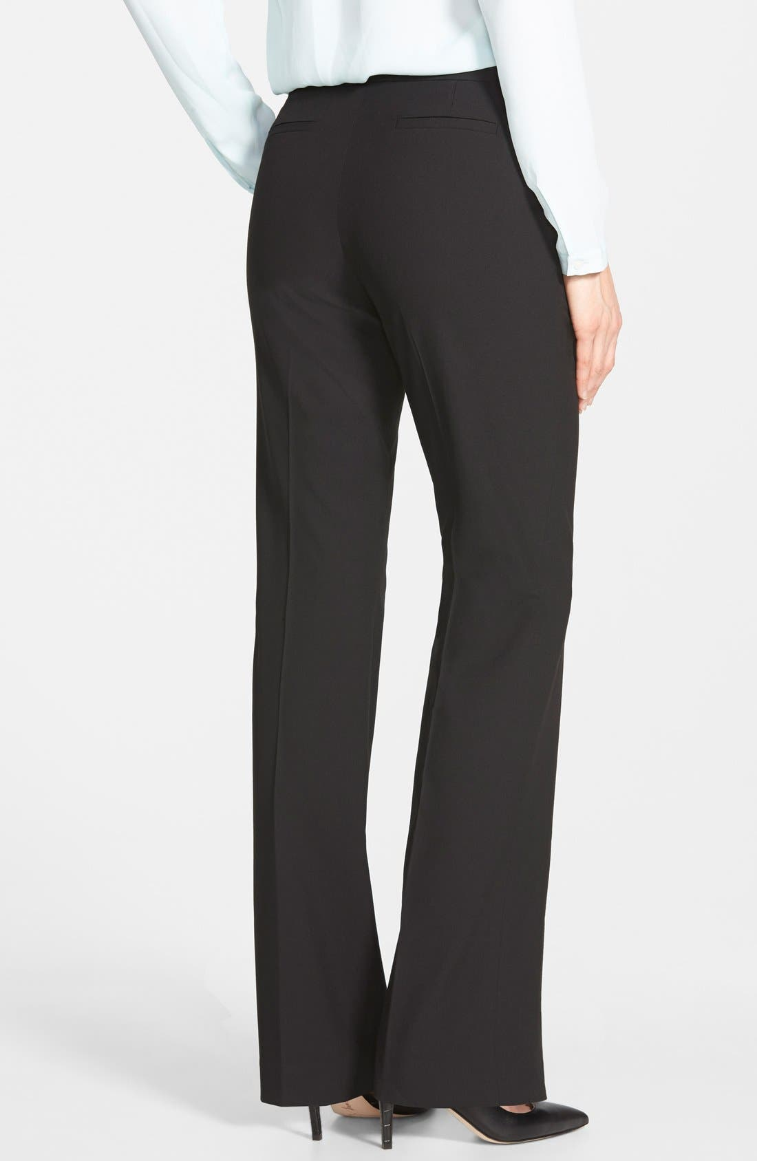 Alternate Image 2  - Halogen® 'Taylor' Stretch Suit Pants (Regular & Petite)