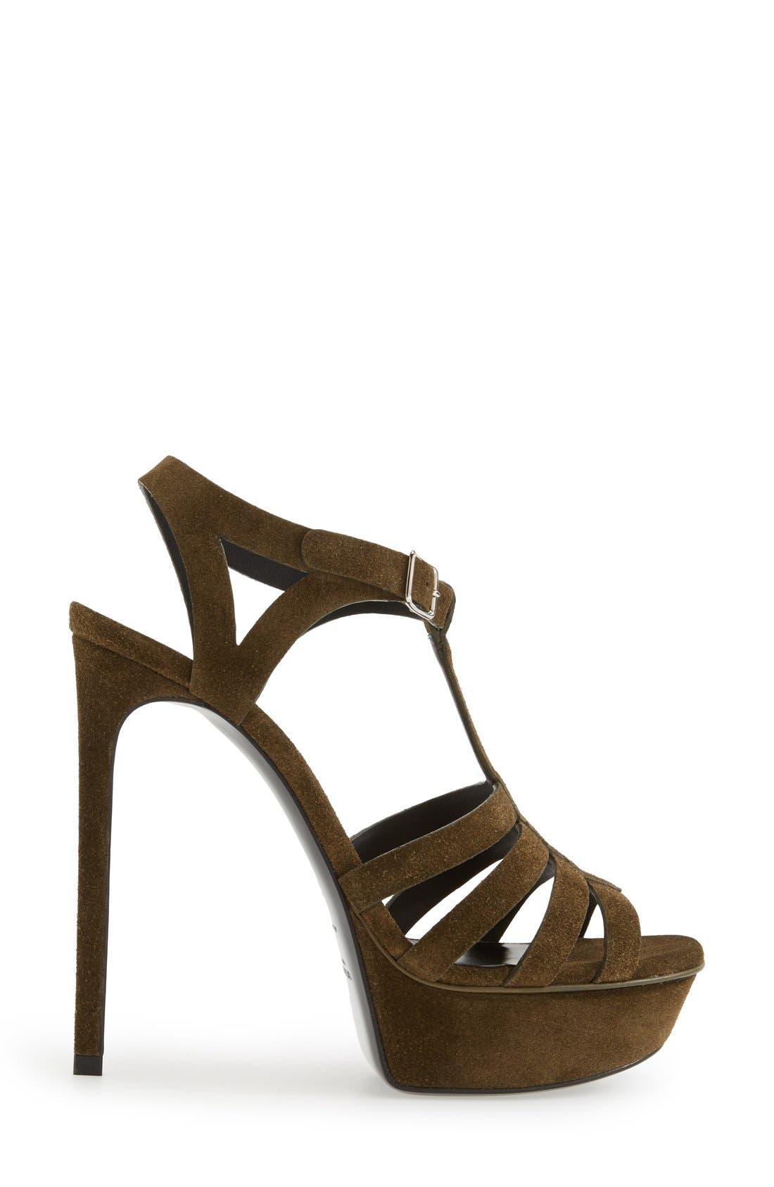 Alternate Image 4  - Saint Laurent 'Bianca' Platform Sandal (Women)