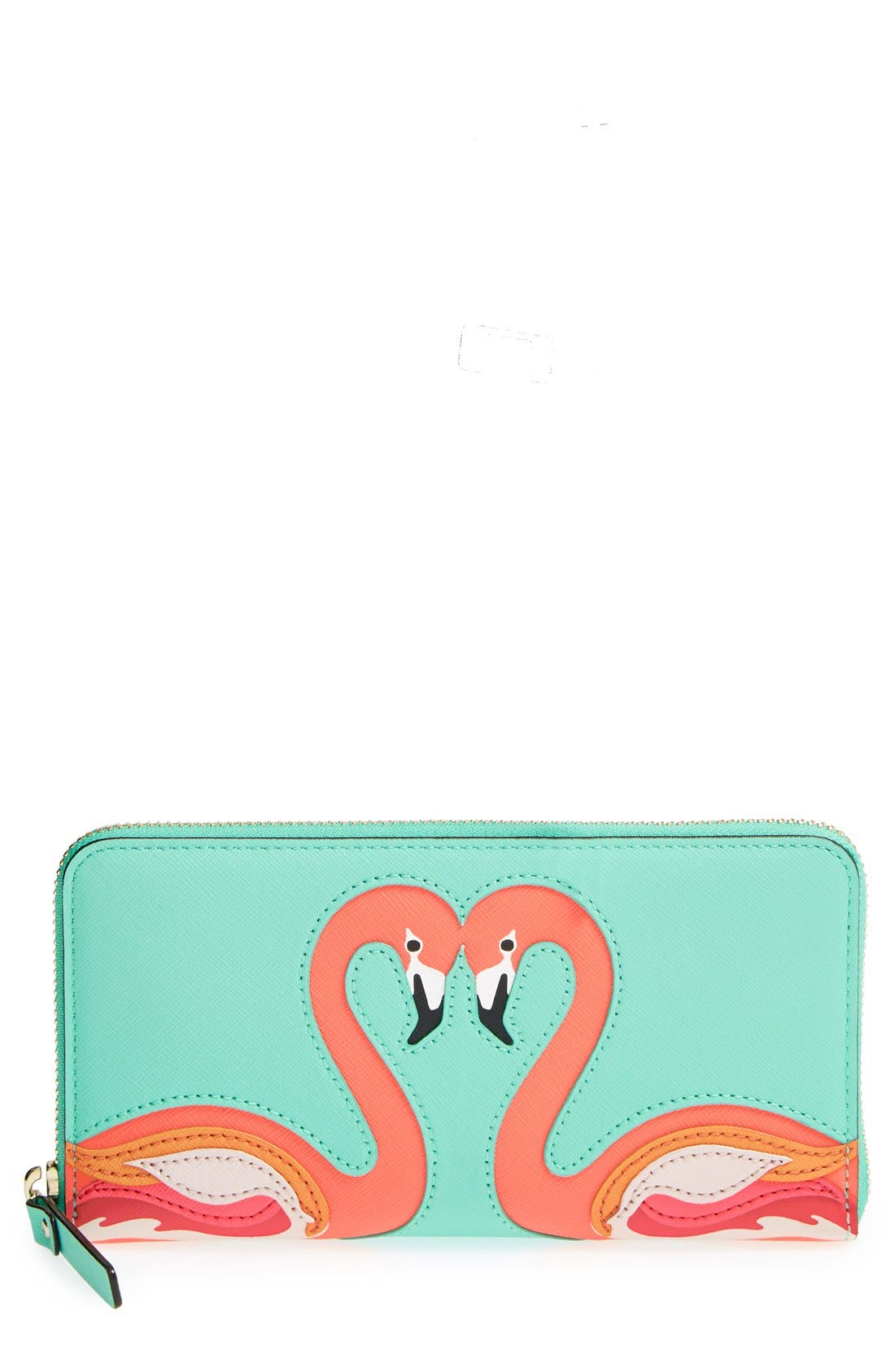 Alternate Image 1 Selected - kate spade new york 'strut your stuff - lacey' zip around wallet