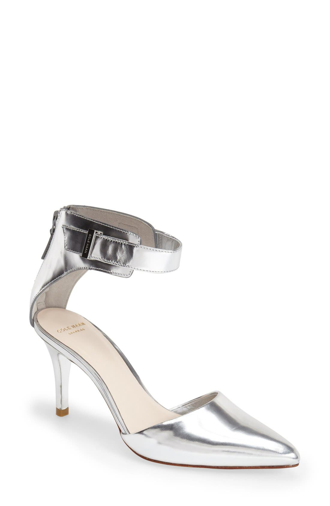 Alternate Image 1 Selected - Cole Haan 'Highline' Ankle Strap Pump (Women)