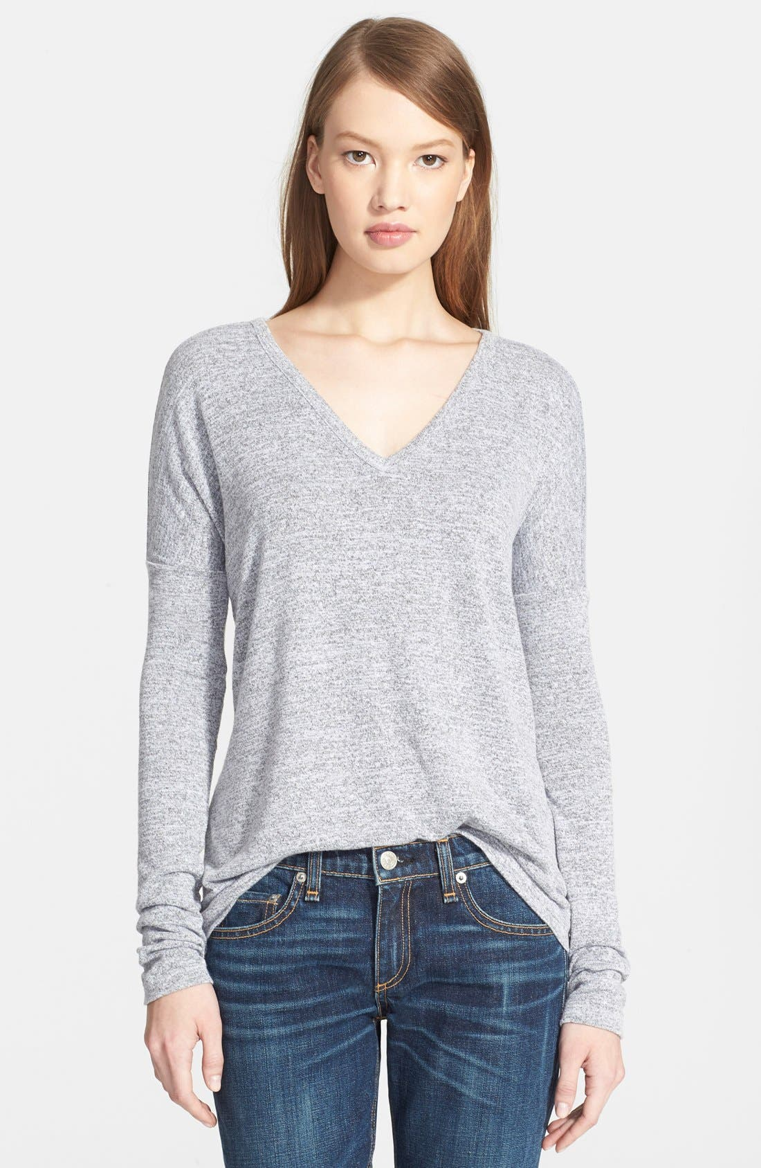 Main Image - rag & bone/JEAN Long Sleeve Tee (Nordstrom Exclusive)