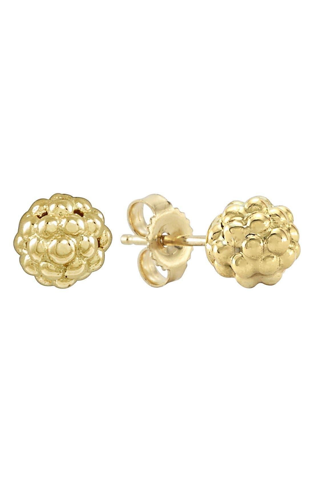 LAGOS 'Caviar Icon' Stud Earrings