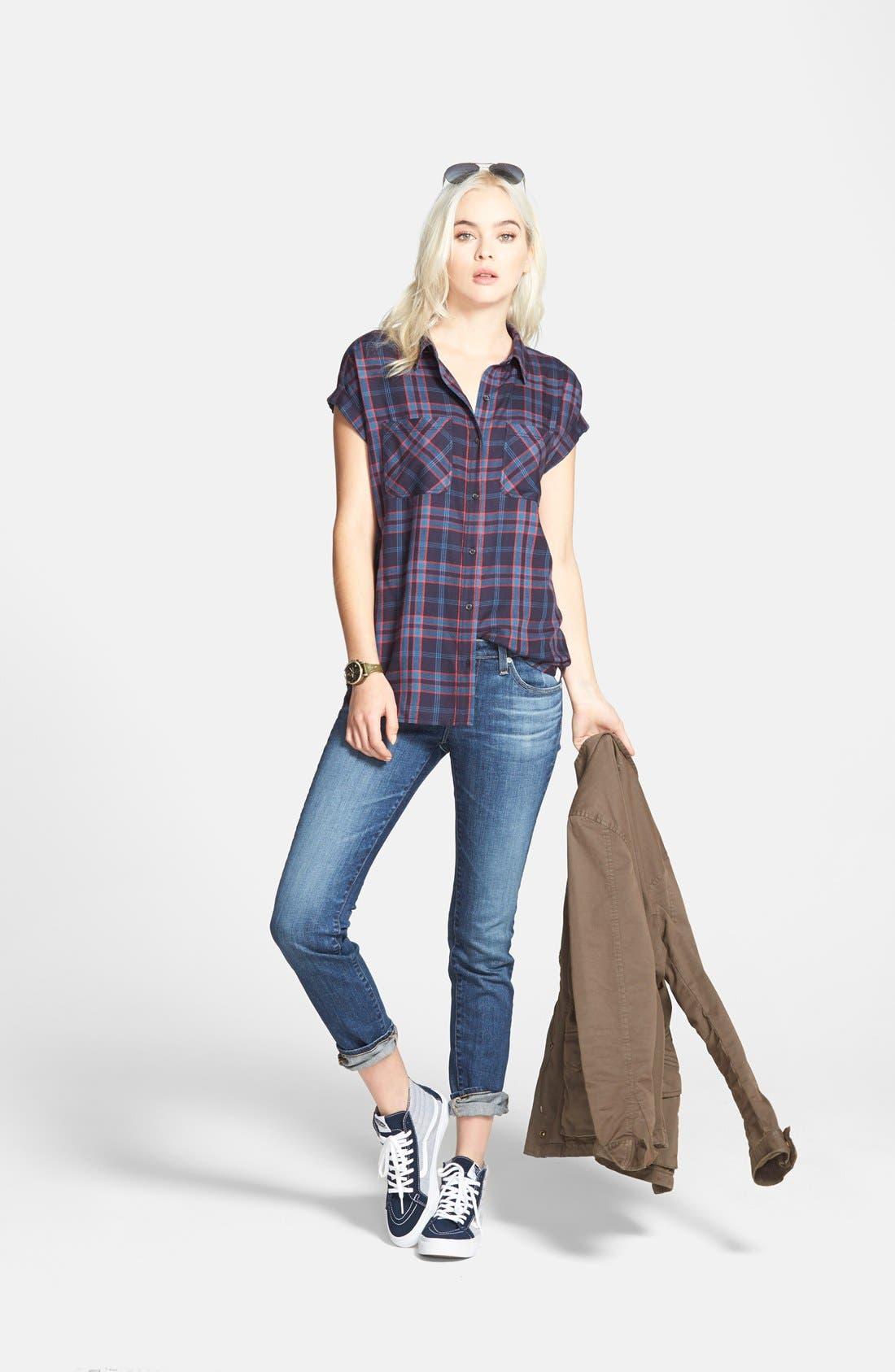 Alternate Image 6  - AG 'The Stilt' Cigarette Leg Jeans (Four Year Dreamer) (Nordstrom Exclusive)