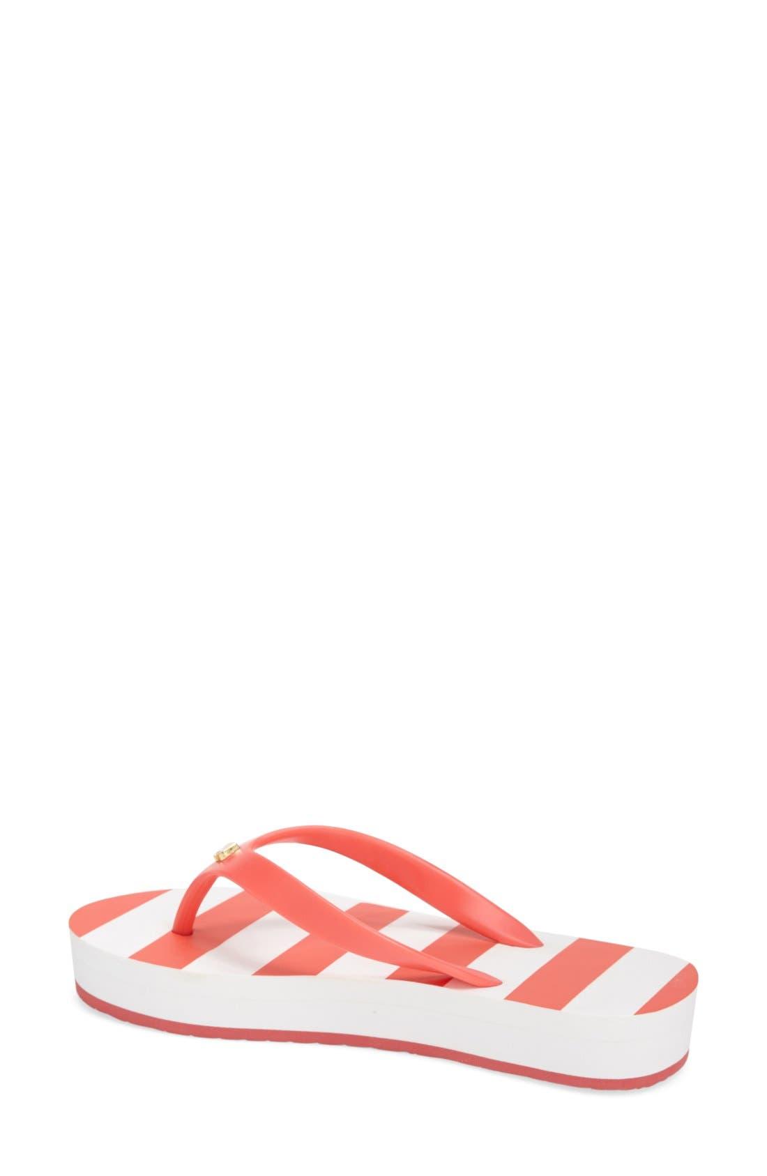 Alternate Image 2  - kate spade new york 'fanlow' flip flop (Women)