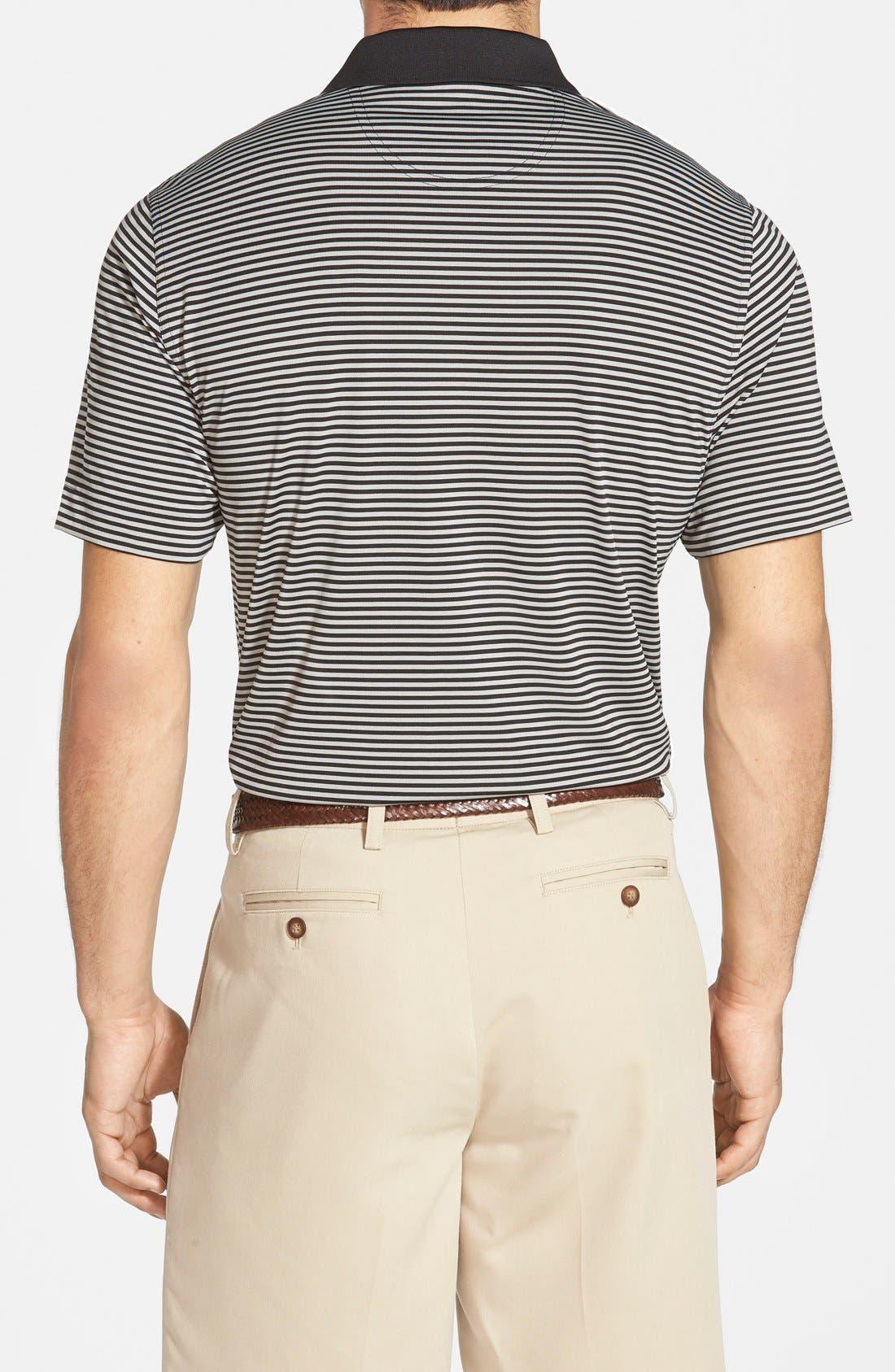 Alternate Image 2  - Cutter & Buck 'Trevor' Stripe DryTec Polo (Regular & Big)