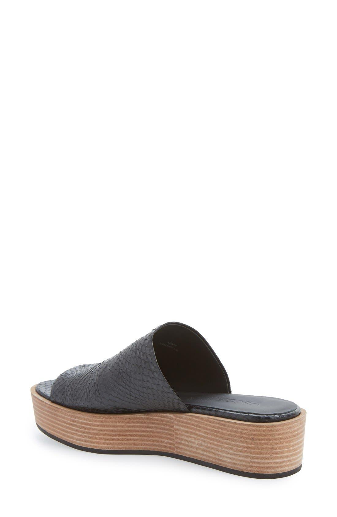 Alternate Image 2  - Vince 'Saskia 2' Platform Sandal (Women)