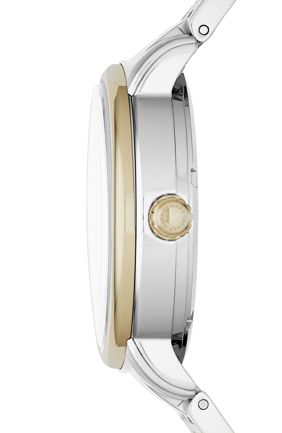 Alternate Image 2  - MARC JACOBS 'Fergus' Bracelet Watch, 38mm