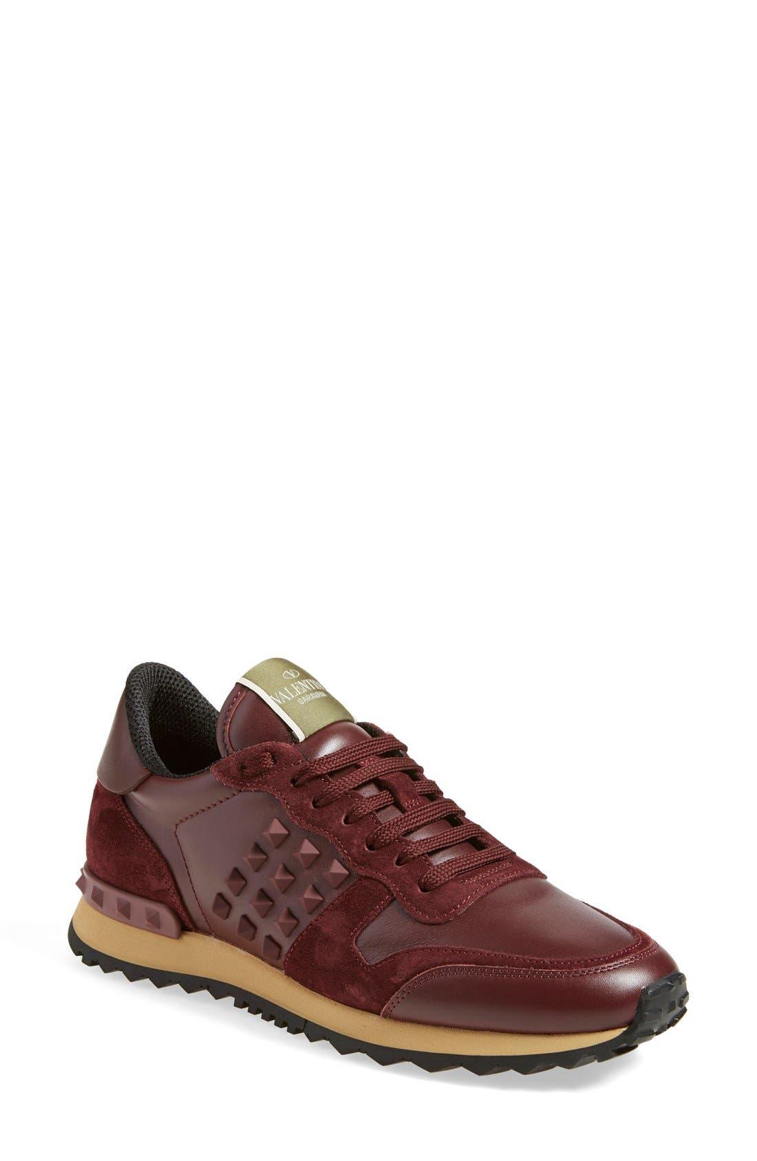 Alternate Image 1 Selected - Valentino 'Rockrunner' Sneaker (Women)