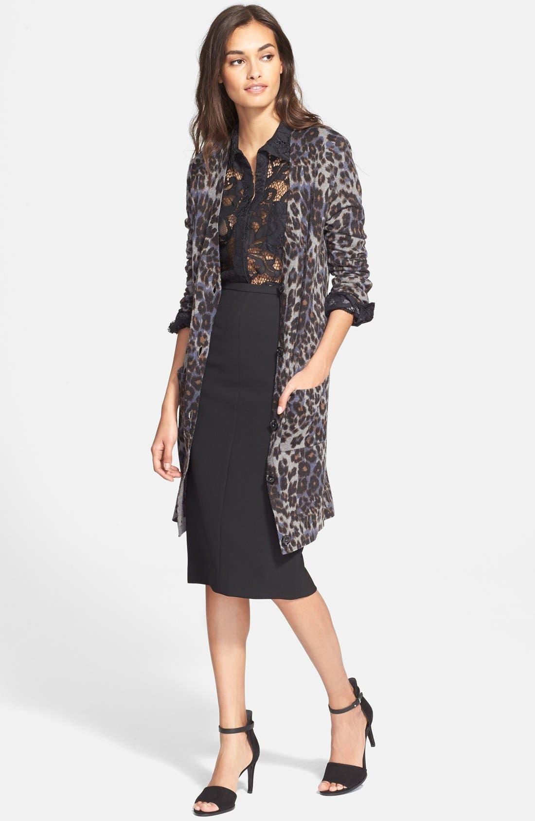 Alternate Image 4  - Diane von Furstenberg 'Samara' Pencil Skirt