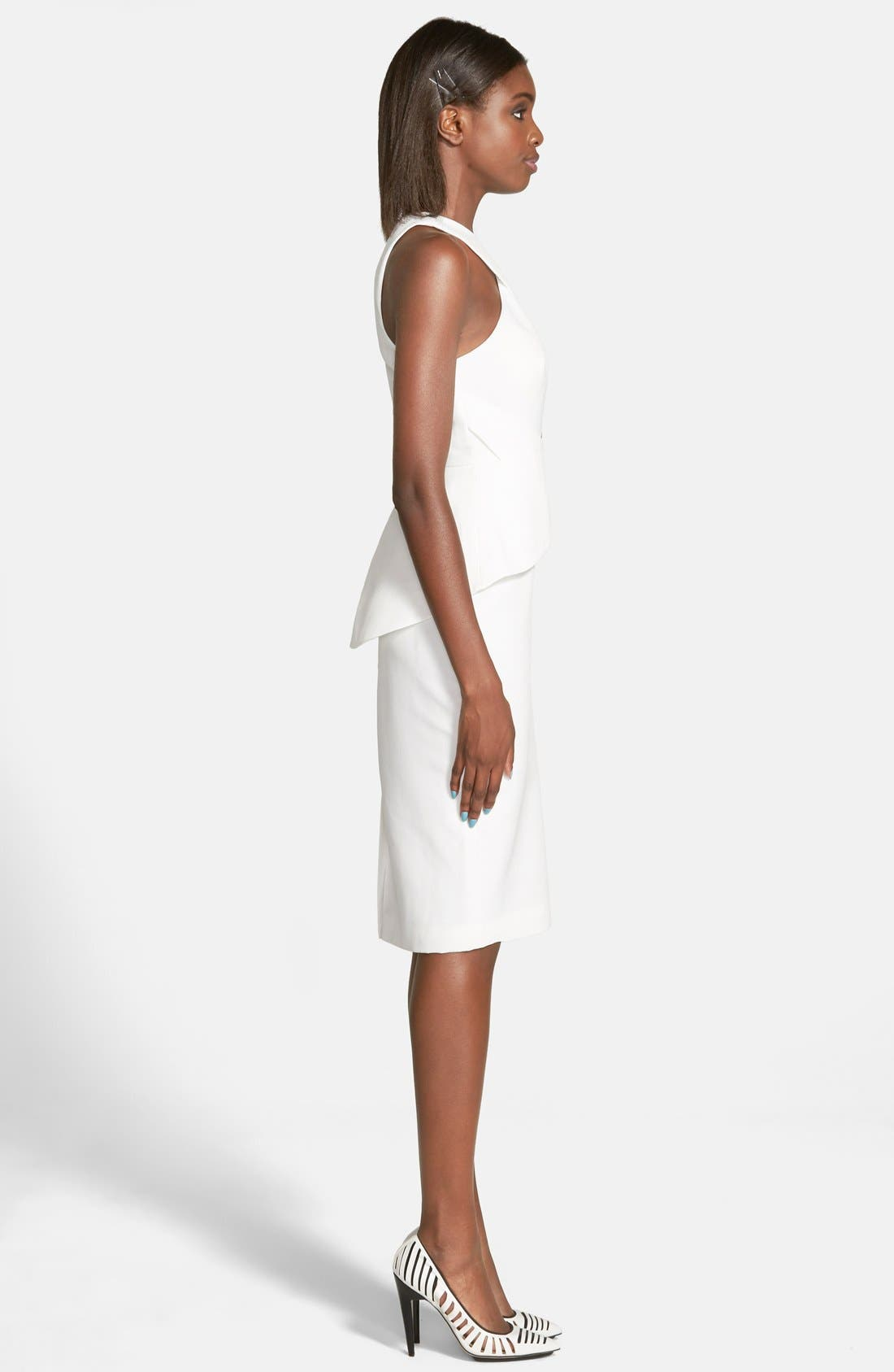 Alternate Image 3  - C/MEO Collective 'What You Know' Peplum Dress