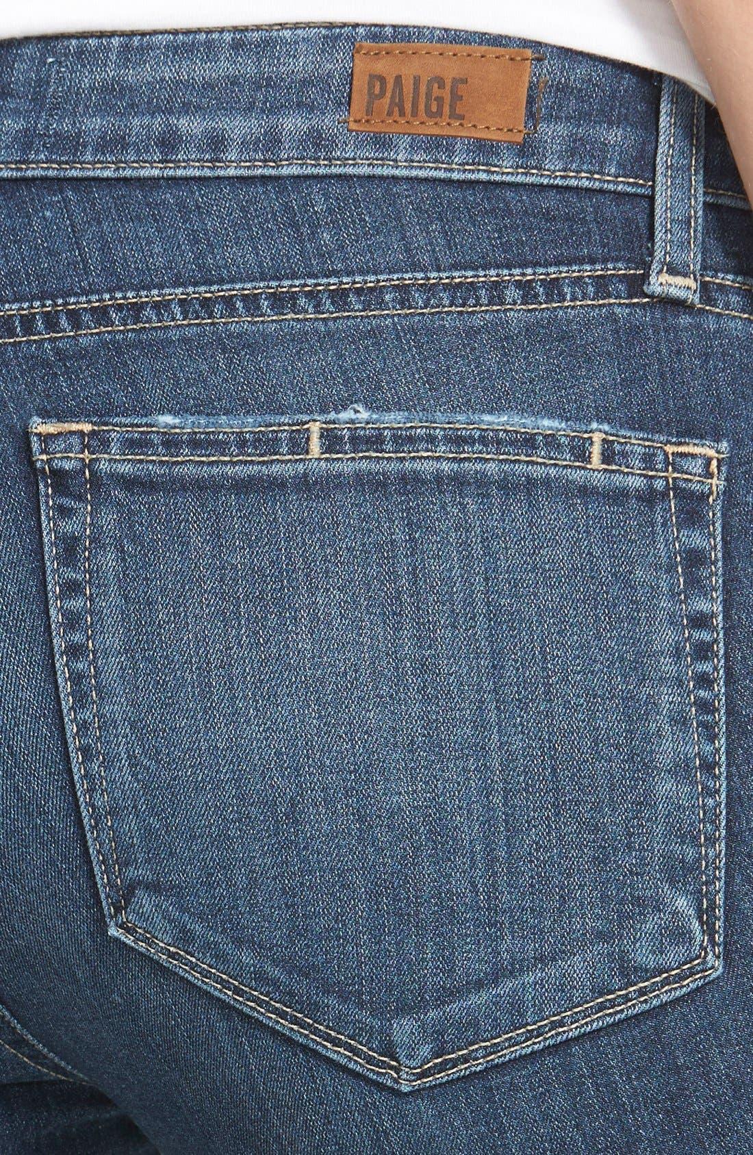 Alternate Image 2  - Paige Denim 'Transcend - Verdugo' Ultra Skinny Jeans (Quinnley Destructed)