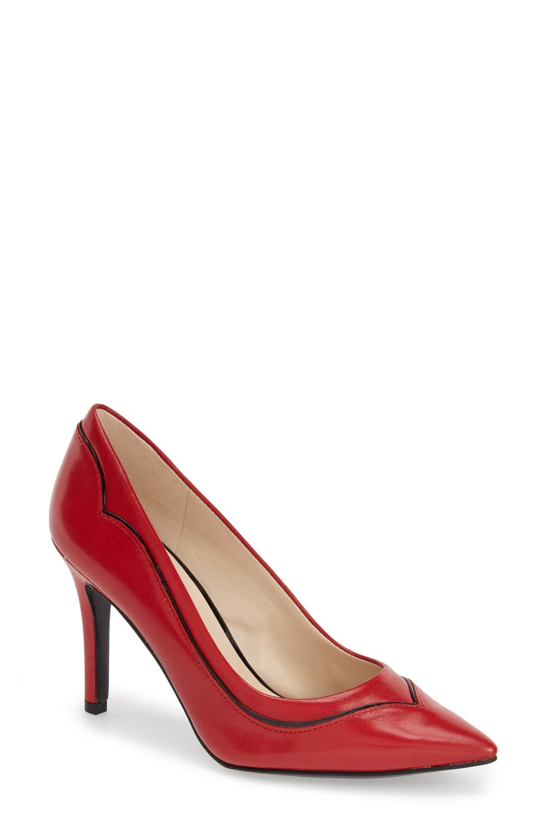 Alternate Image 1 Selected - Nine West 'Jet Plane' Pointy Toe Pump (Women)