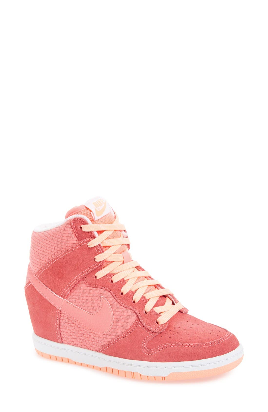 Alternate Image 1 Selected - Nike 'Dunk Sky Hi - Essential' Wedge Sneaker (Women)