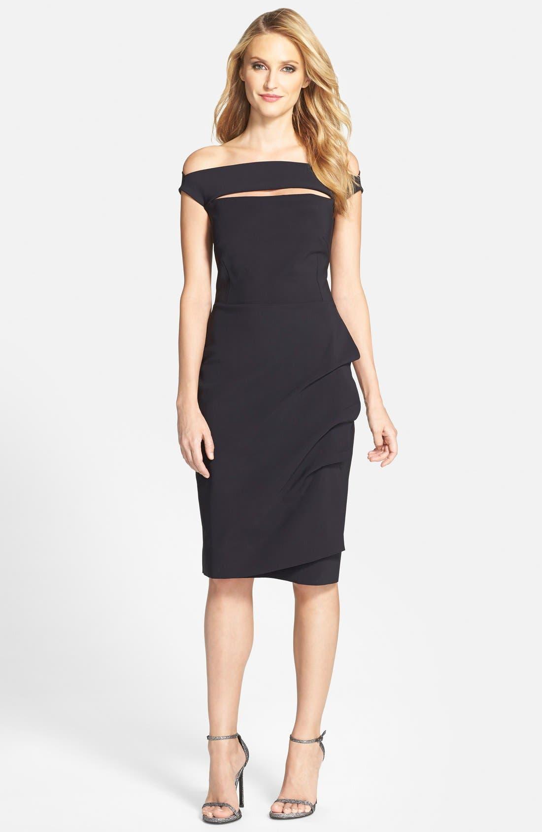 Chiara Boni La Petite Robe 'Melania' Jersey Dress
