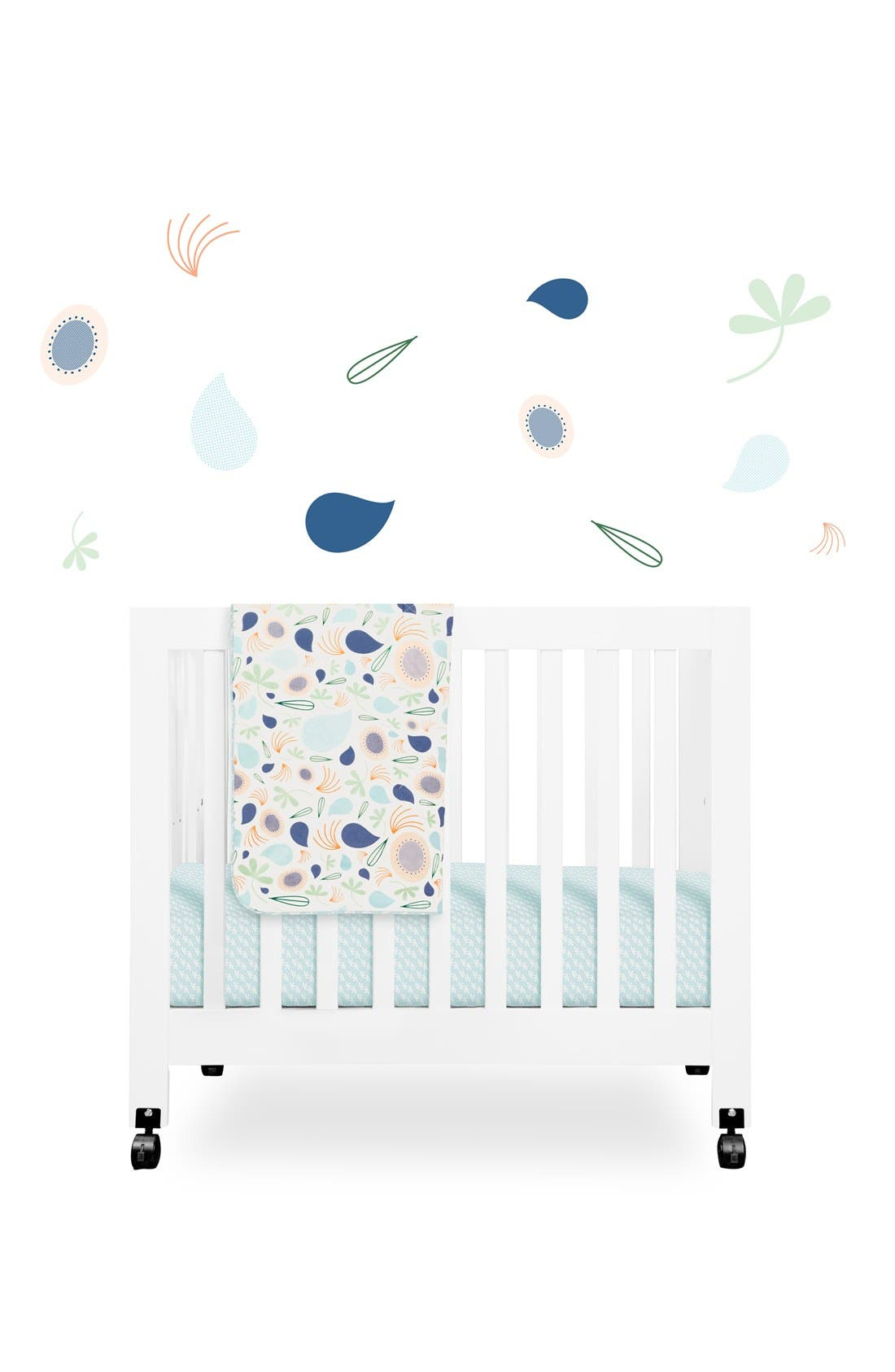 BABYLETTO 'Flora' Mini Crib Sheet, Changing Pad Cover,