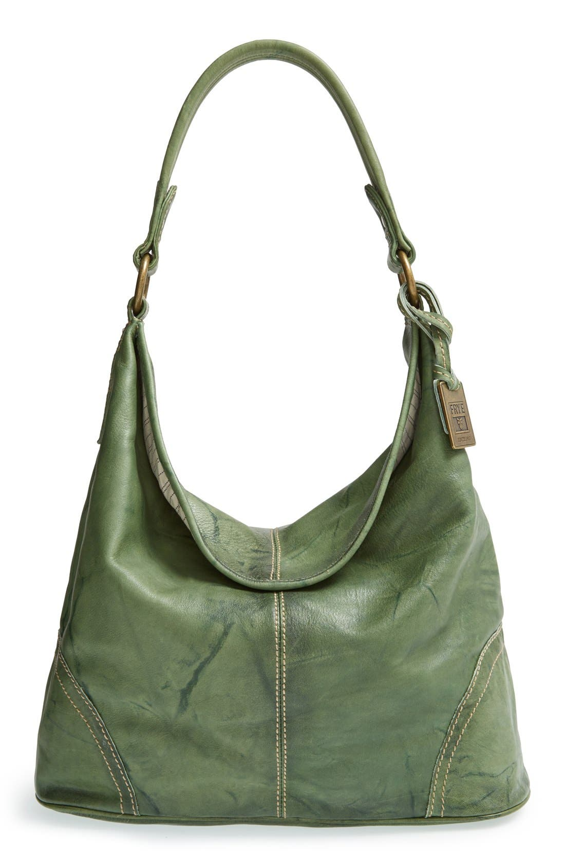 Main Image - Frye 'Campus' Leather Hobo