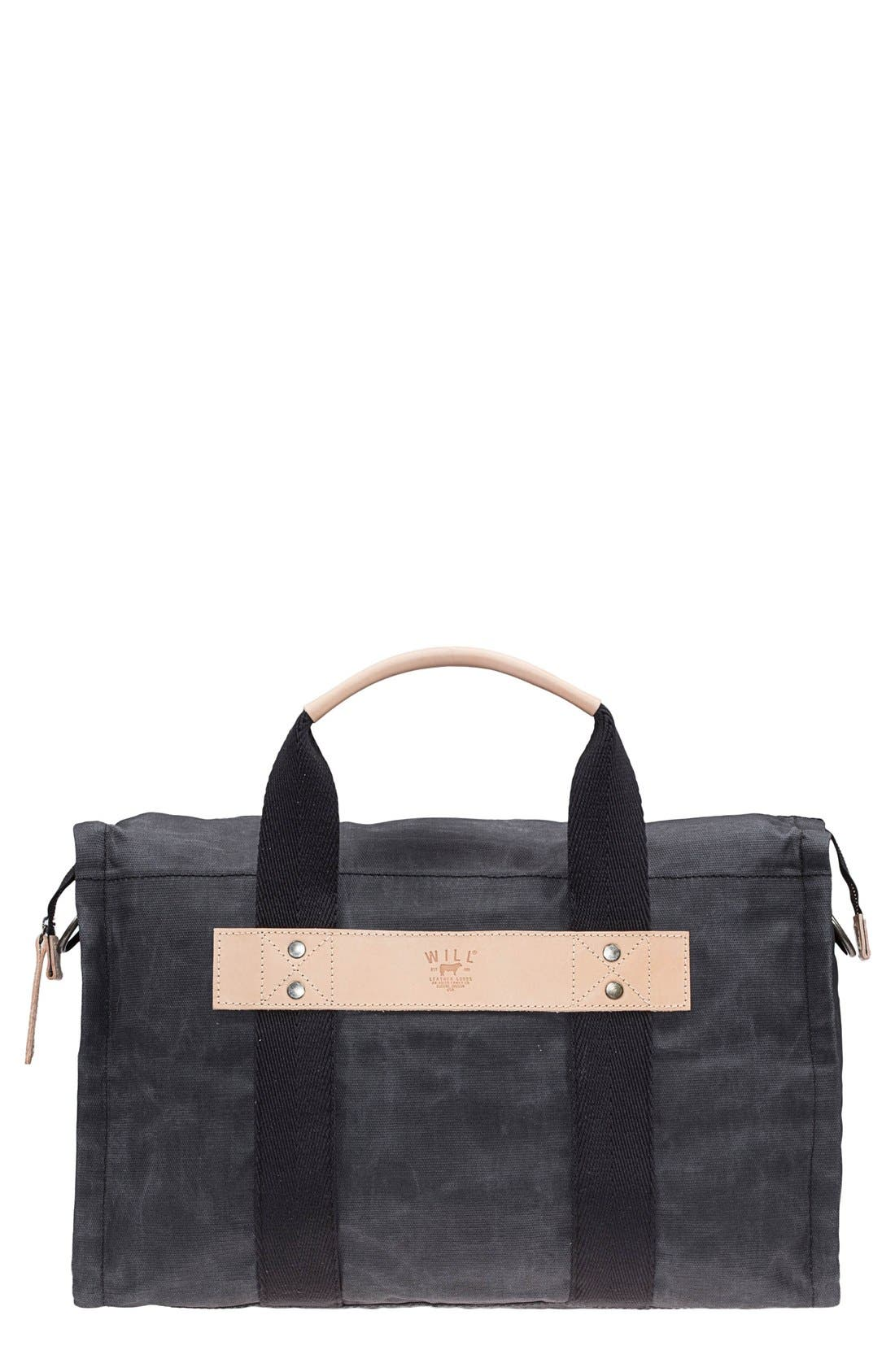 Alternate Image 1 Selected - Will Leather Goods Canvas Duffel Bag